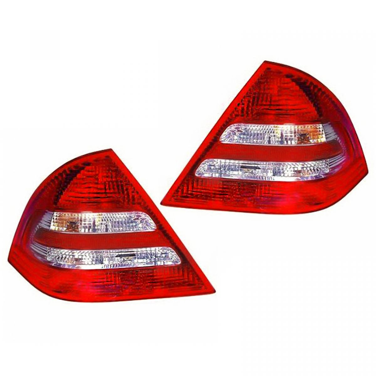 [DIAGRAM_4PO]  Rear Brake Lights Taillights Taillamps Pair Set for Mercedes Benz C Class  Sedan | eBay | Mercedes Benz C280 4matic 2007 Side Markers Repair Wire Harness |  | eBay