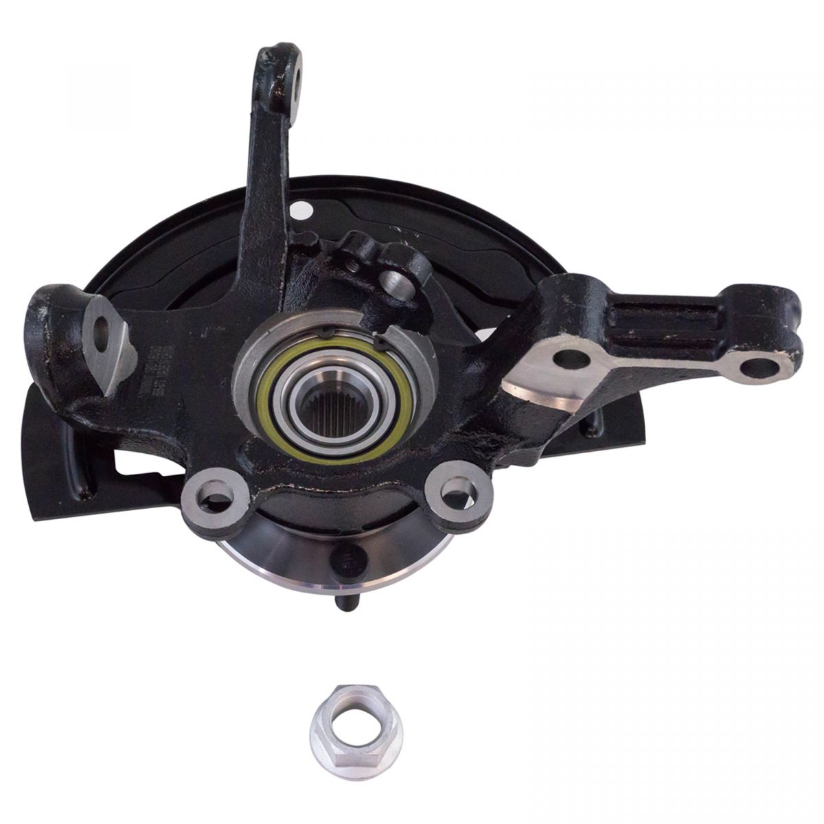Complete Wheel Hub Bearing & Steering Knuckle Assembly LH for Nissan Altima 2.5L