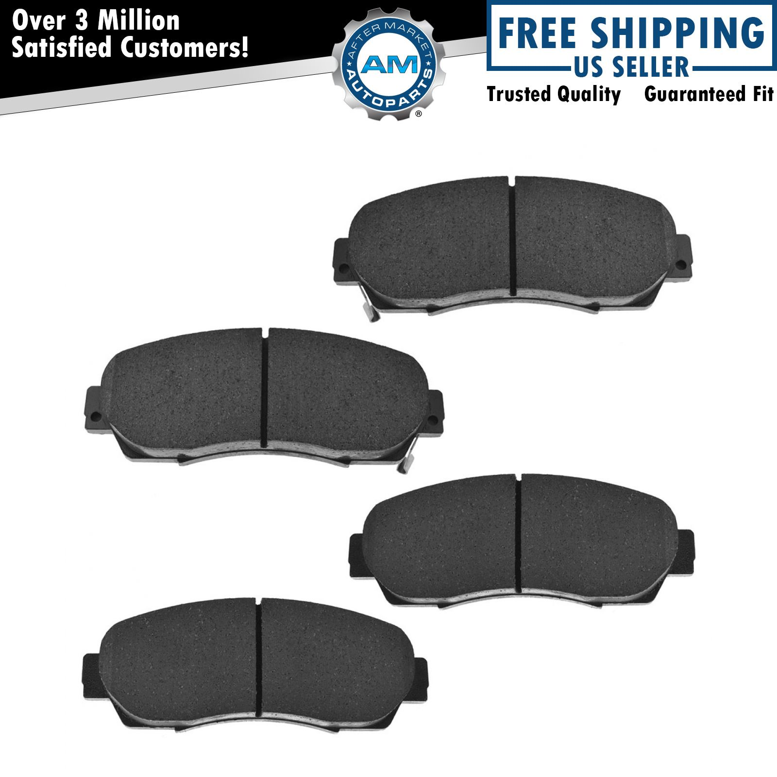 Front Ceramic Brake Pad Kit for Acura RDX Honda Crosstour CR-V Odyssey