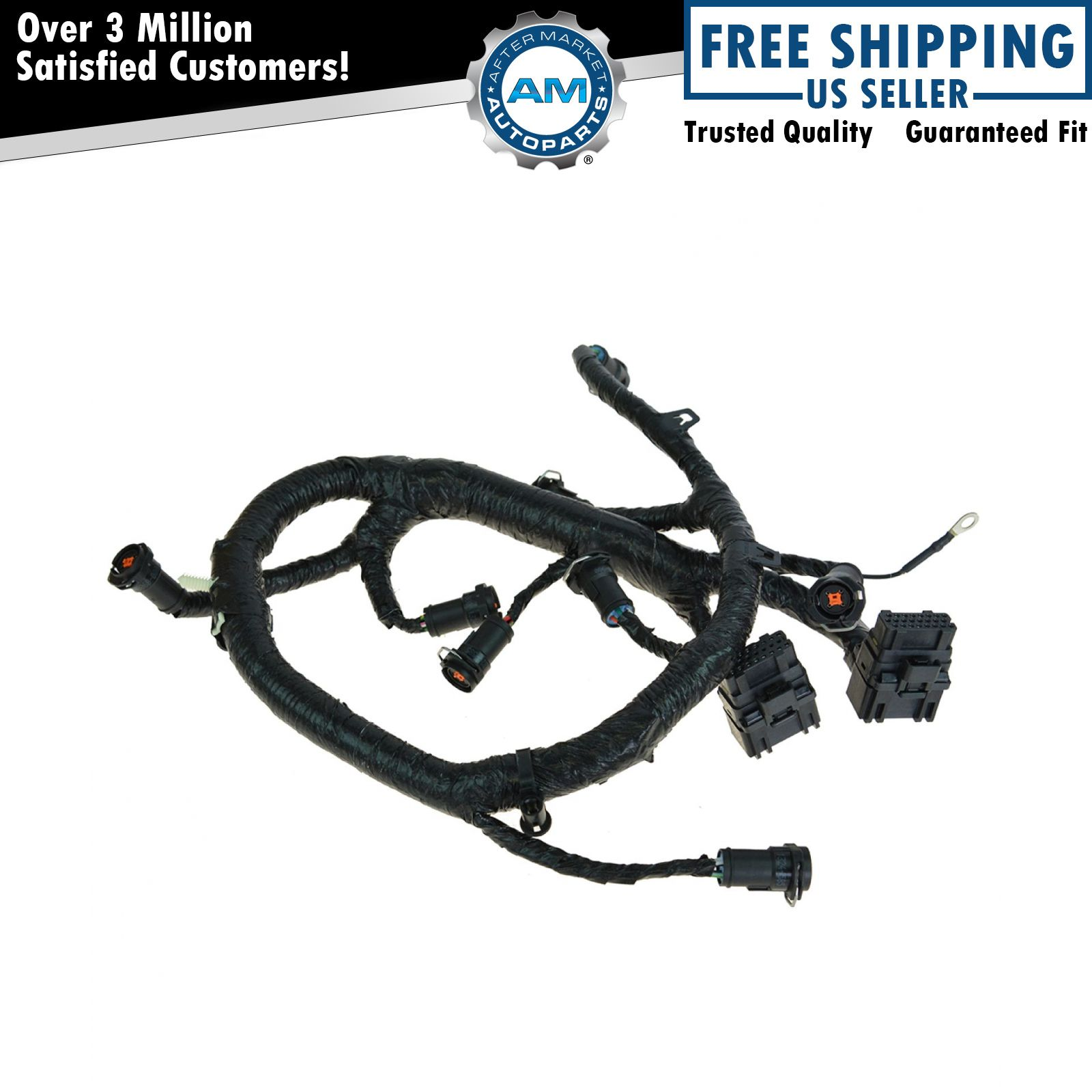 Ford Diesel Wiring Harness Diagrams 3000 Oem Fuel Injector For 05 07 2000 F350 73 Engine