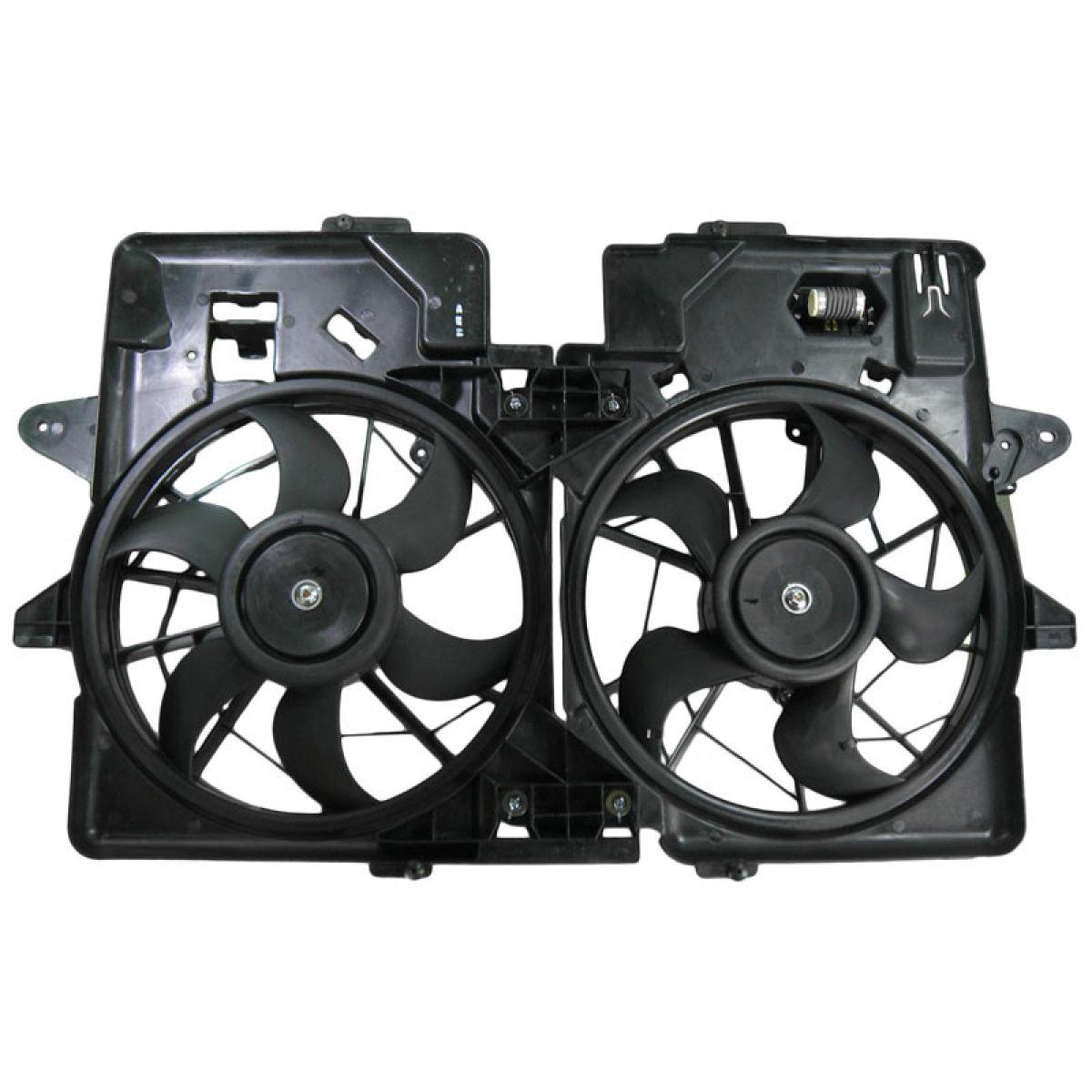 Ford Escape 3.0L V6 01-04 Mazda Tribute 01-06 Radiator A//C AC Cooling Fan