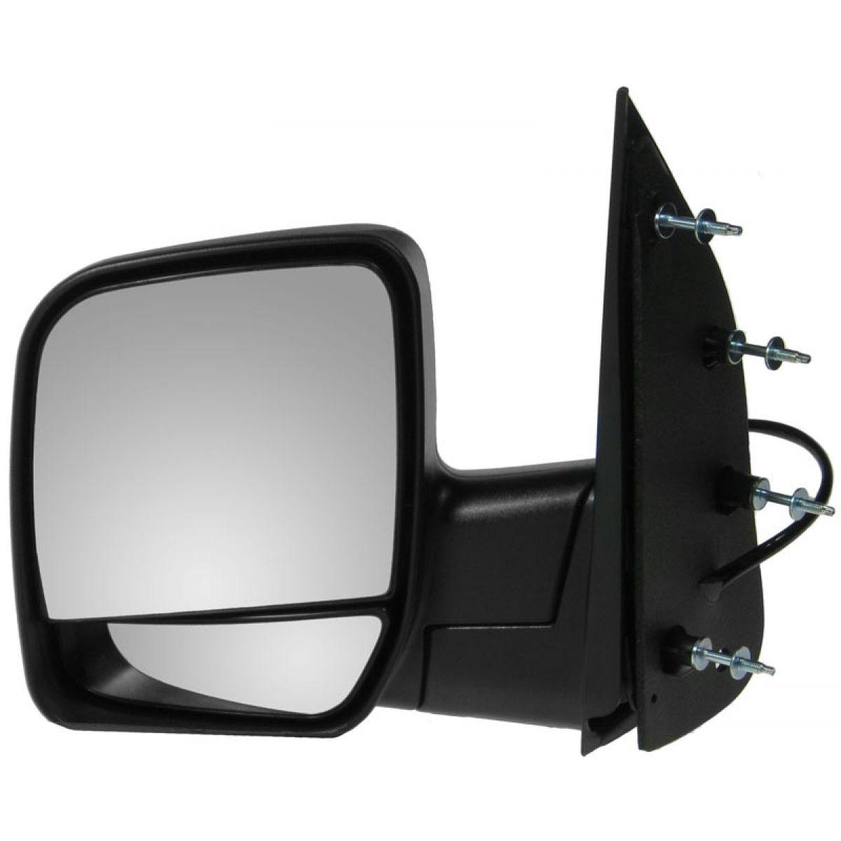 02-08 Econoline Van Manual Black Folding Rear View Mirror Left Driver Side NEW
