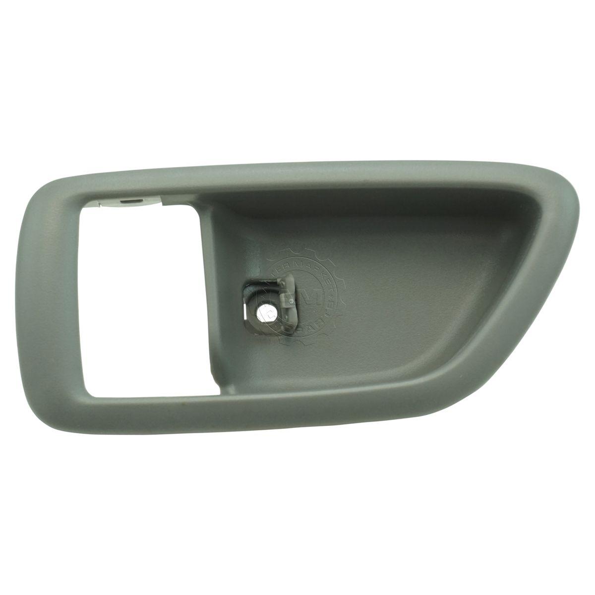 Inside Door Handle Front Left Driver Side Interior Gray