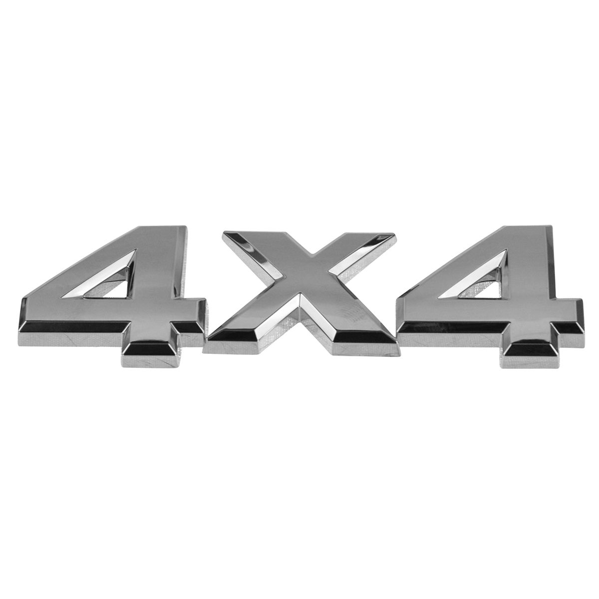 OEM Emblem Nameplate Tailgate Hatch Mounted Chrome 4x4 for Frontier Titan Xterra