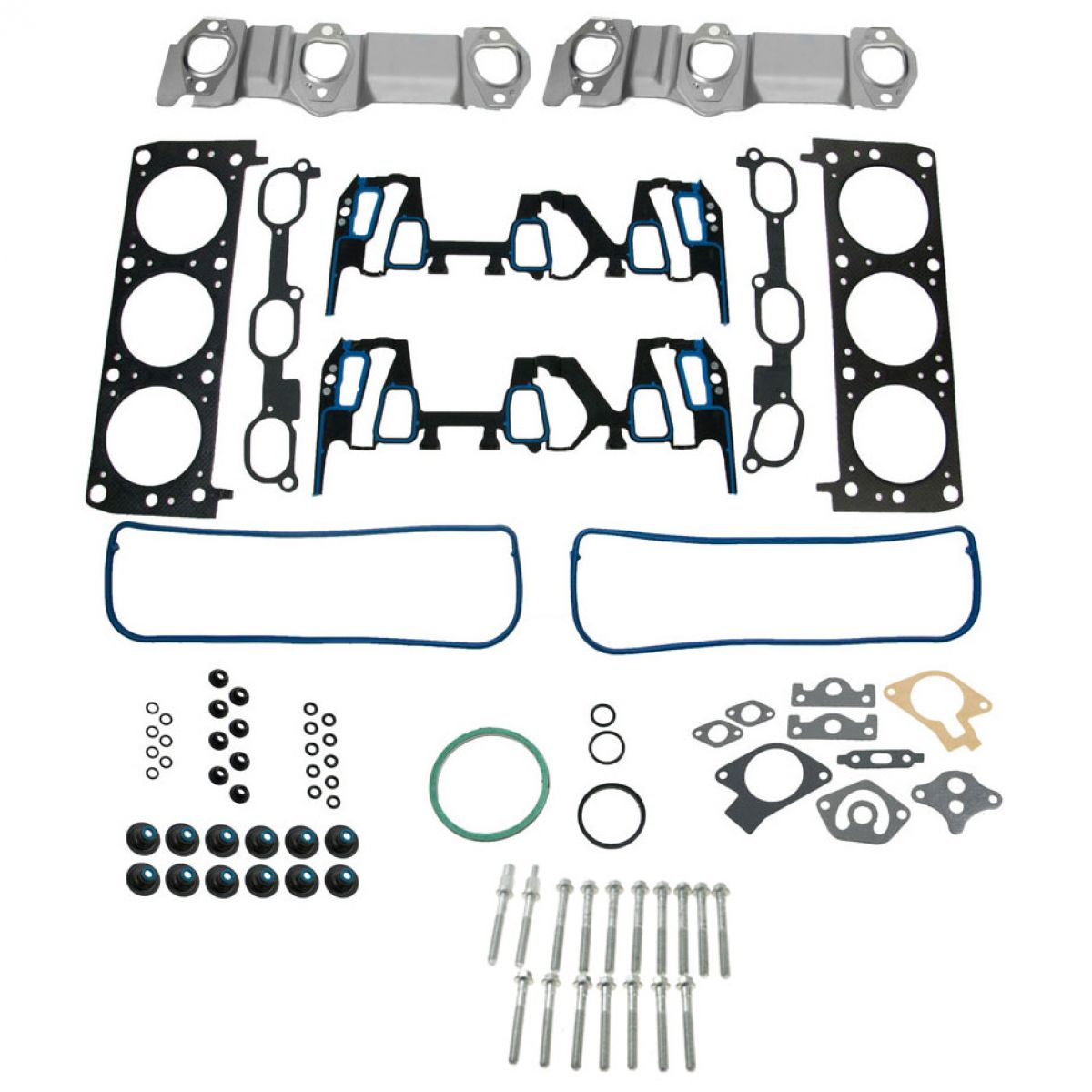 Engine Cylinder Head Gasket  U0026 Bolt Set For Buick Chevy