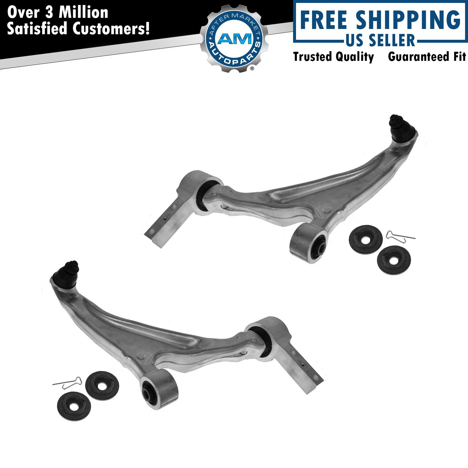 Control Arms Front Lower w/ Ball Joints Left & Right Pair Set for Honda Pilot | eBay