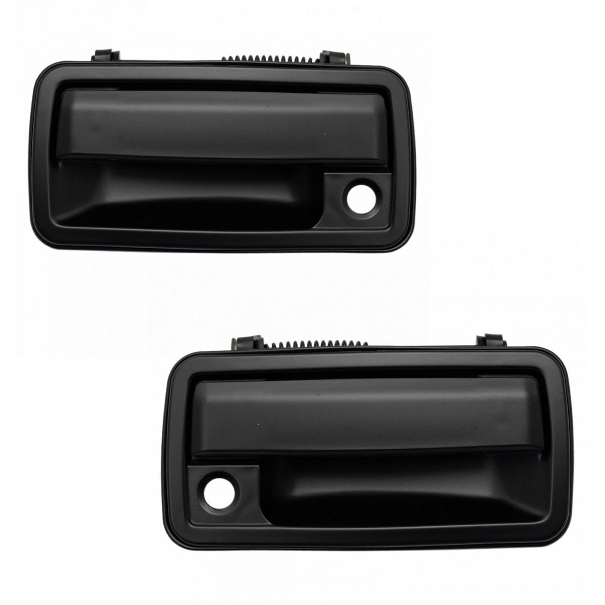 New Pair Set Outside Front Exterior Door Handle Chevy GMC Pickup Truck SUV