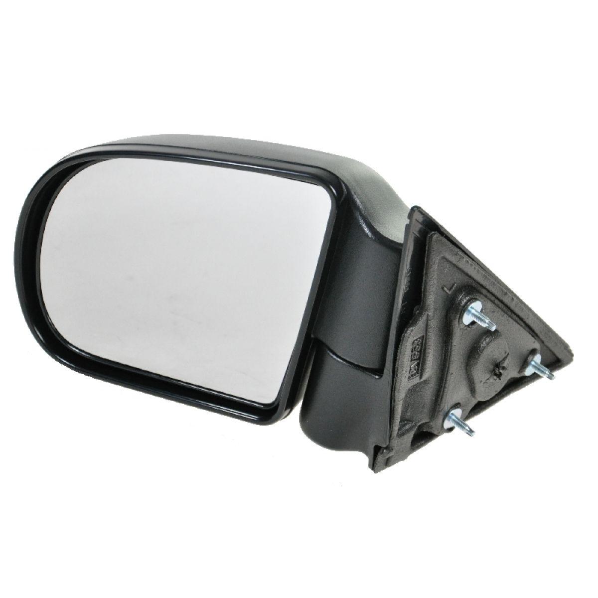 S10 S15 Pickup Truck /& S10 Blazer S15 Jimmy Drivers Side Manual Mirror Textured