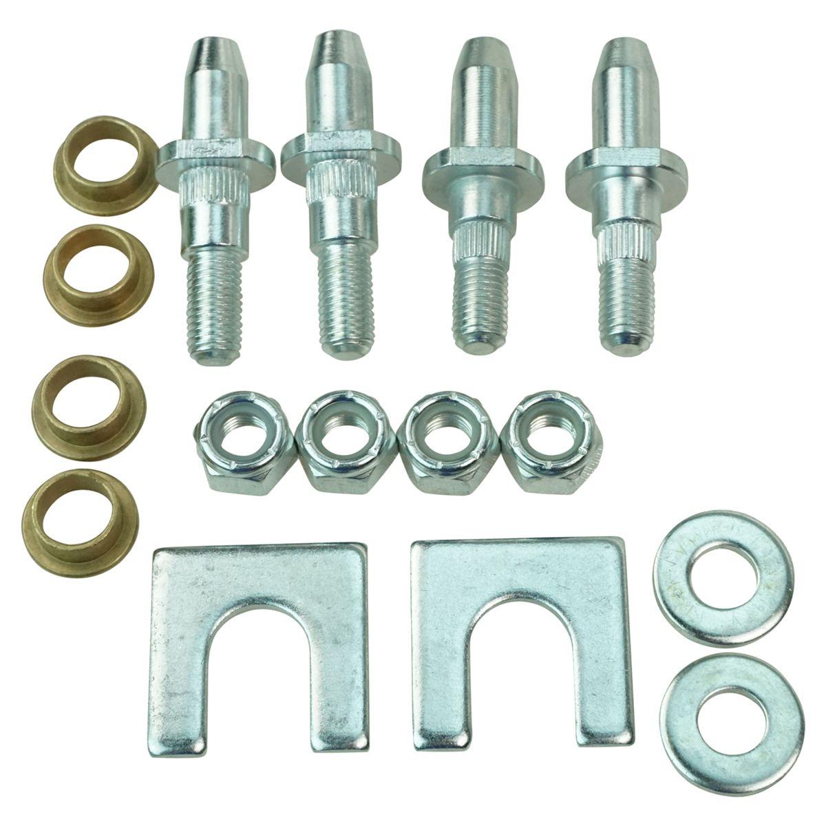 Door Hinge Pin /& Bushing Kit Front,Rear Dorman 38490