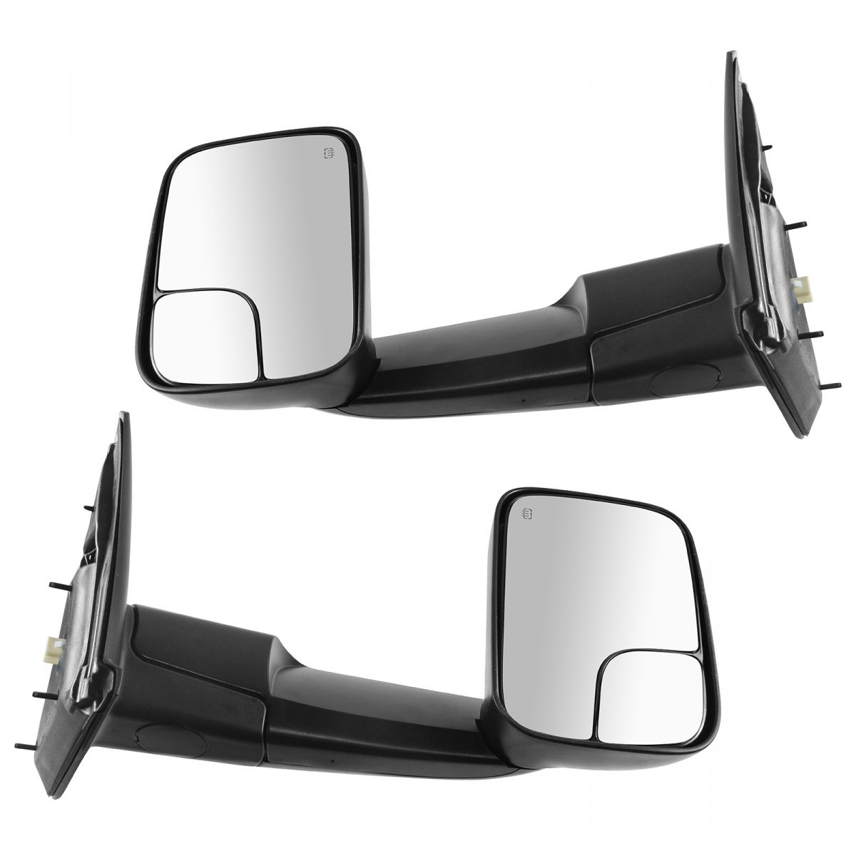 OEM 82207298 Power Heater Flip Up Style Tow Mirrors Pair ...