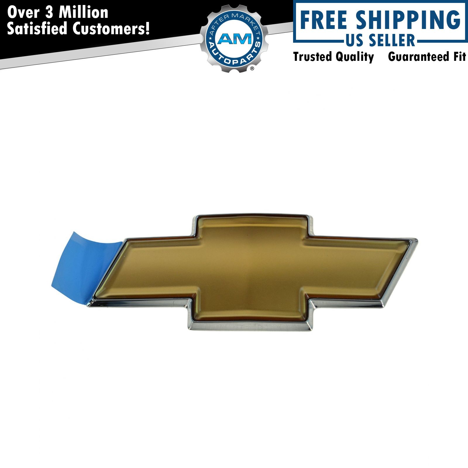 Oem grille mounted gold bowtie adhesive emblem for chevy impala oem grille mounted gold bowtie adhesive emblem for chevy impala monte carlo buycottarizona Image collections