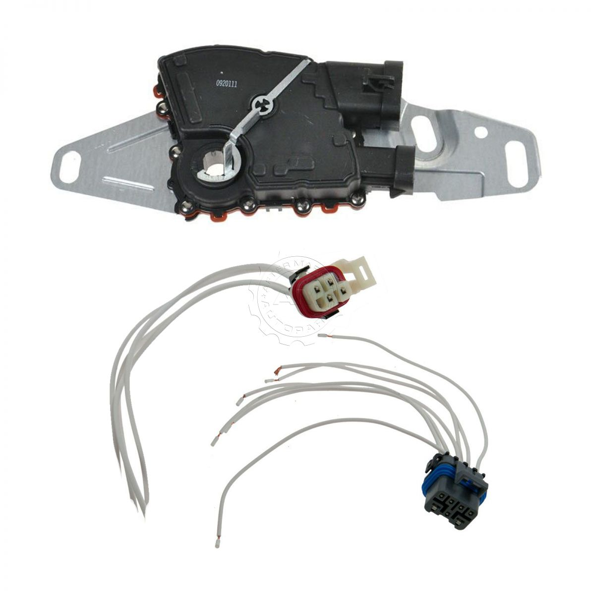 neutral safety switch and connector set for chevy gmc isuzu hummer