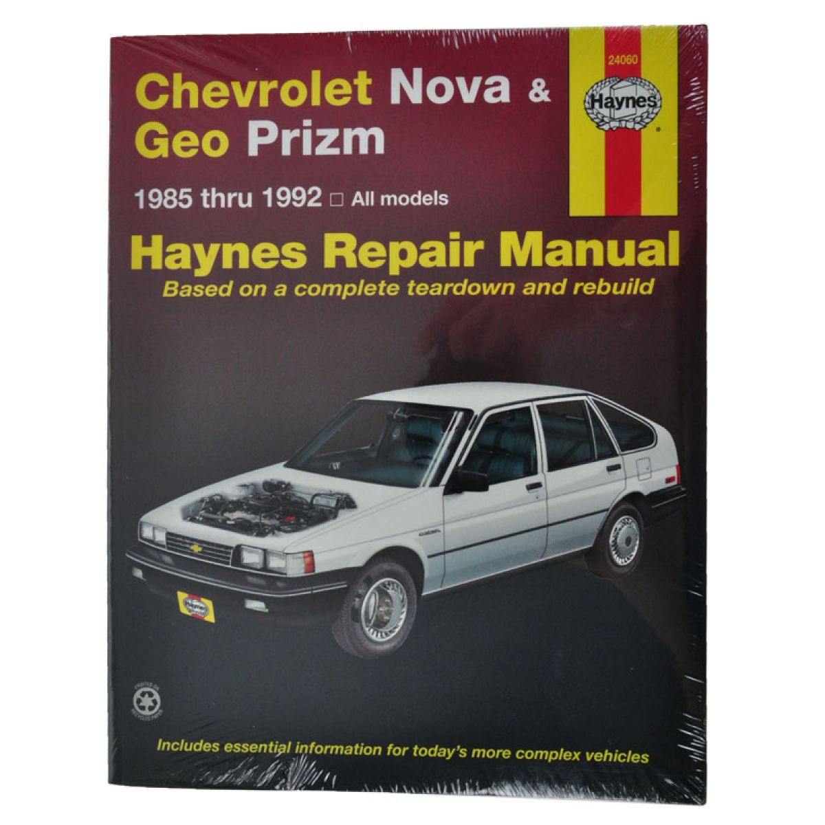 Haynes Repair Manual for Geo Prizm Chevy Nova