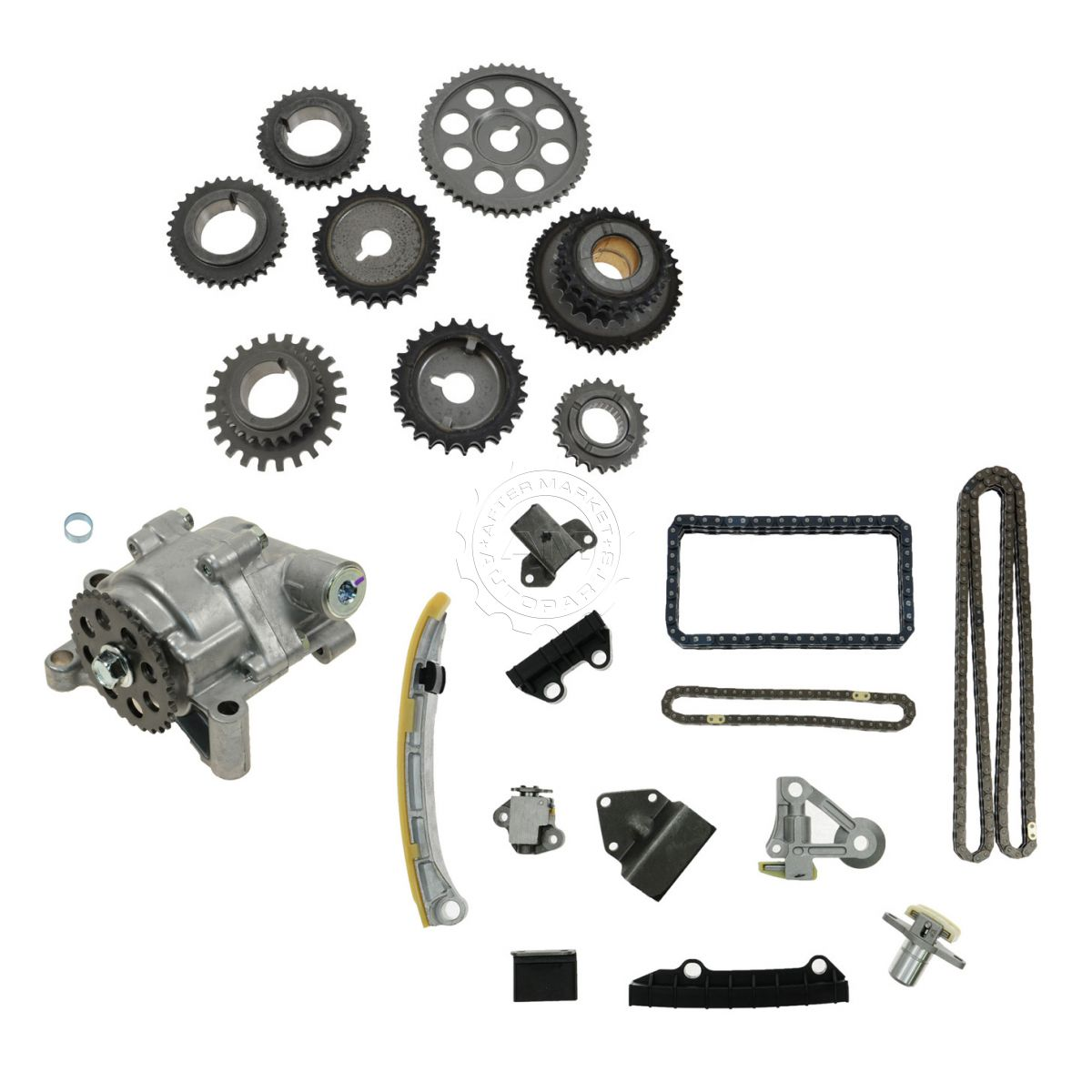 Timing Chain Sprockets Oil Pump Kit Set For Suzuki 2 5l 2