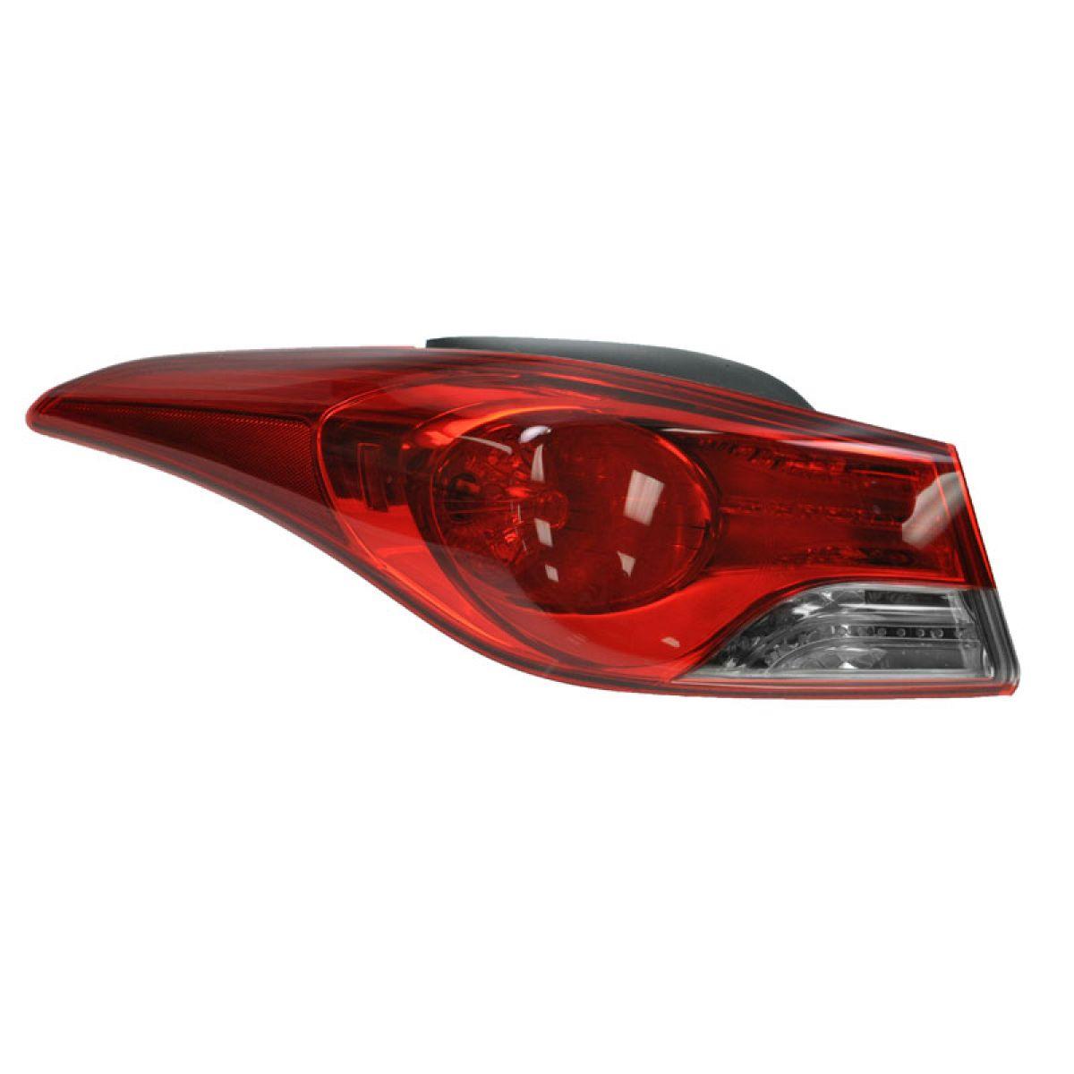 Taillight Outer Brake Light Driver Side Left LH for 11-13 Elantra Sedan US Built