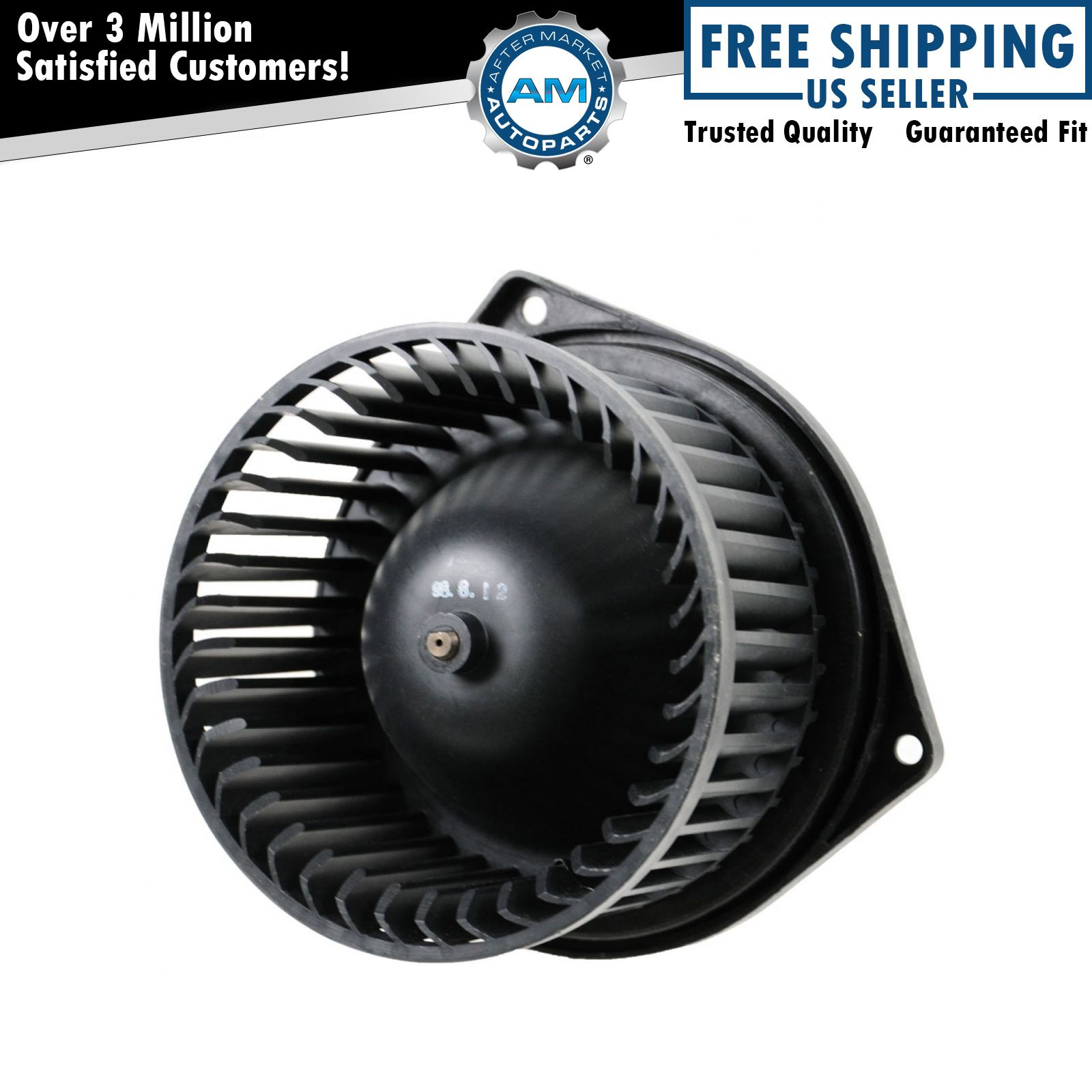 Heater Blower Motor w// Fan Cage Fits Chevy Pickup Buick Pontiac Olds Truck