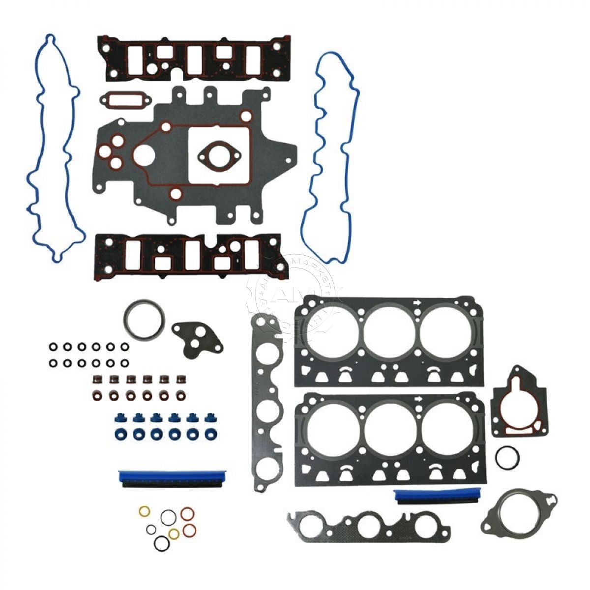 OHV Graphite Engine Head Gasket Set Kit For Buick Chevy