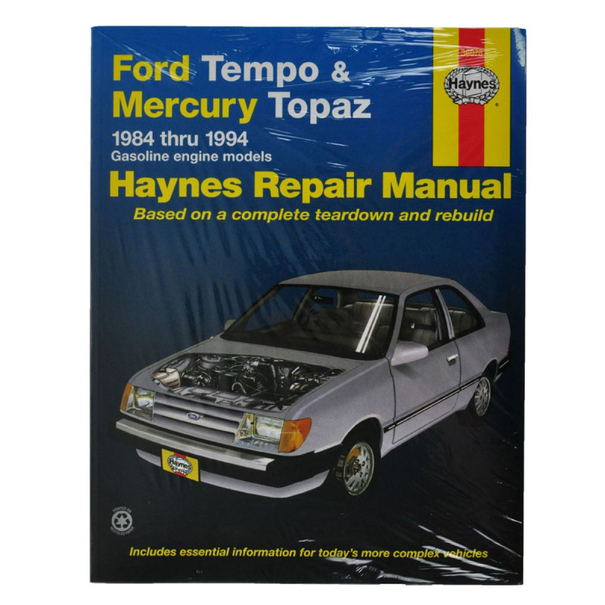Haynes Repair Manual for 1984-1994 Ford Tempo Mercury Topaz