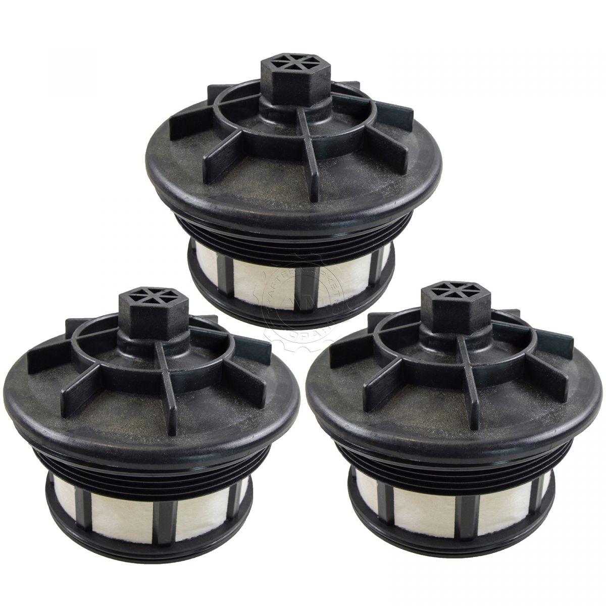 fuel filter set of 3 for ford f250 f350 super duty van 7 3l v8 turbo