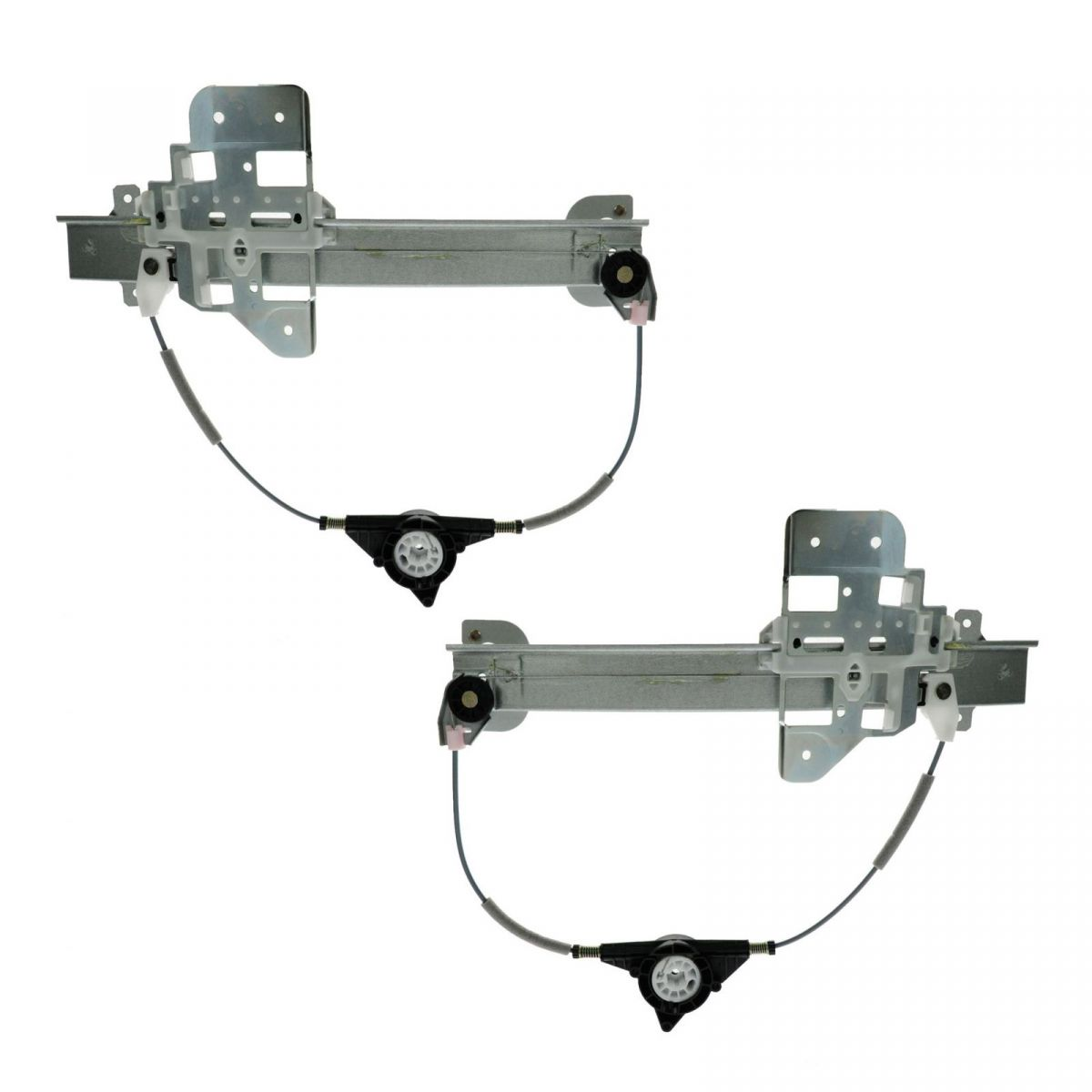 Rear Power Window Regulators Pair Set New For 95 97 Lincoln Town Car