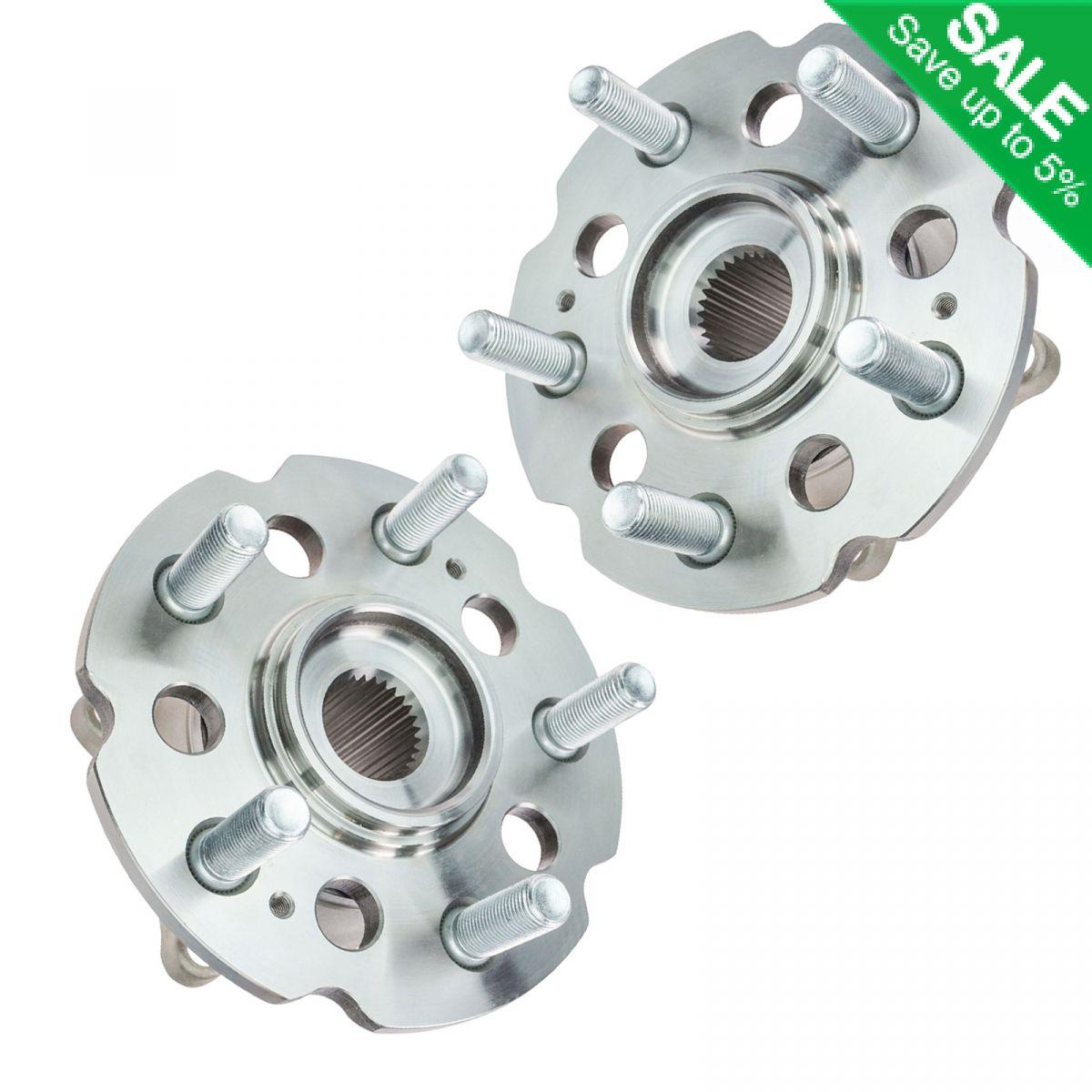 TIMKEN HA590229 4WD Rear Wheel Hub & Bearing Pair Set Of 2