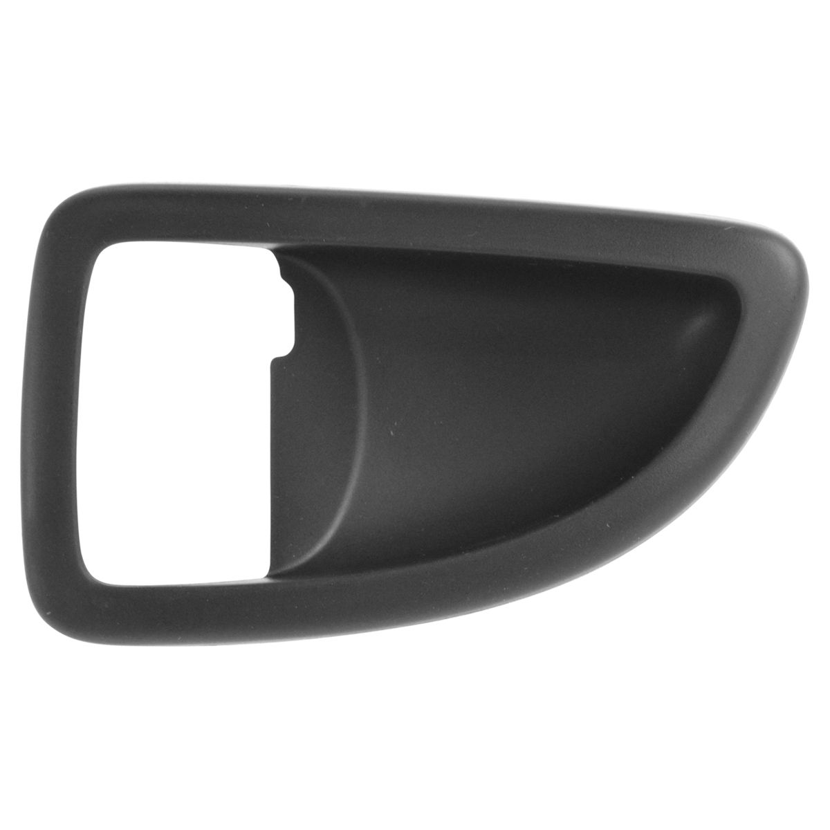 Ebony Genuine GM 15844059 Door Handle Bezel Front Interior