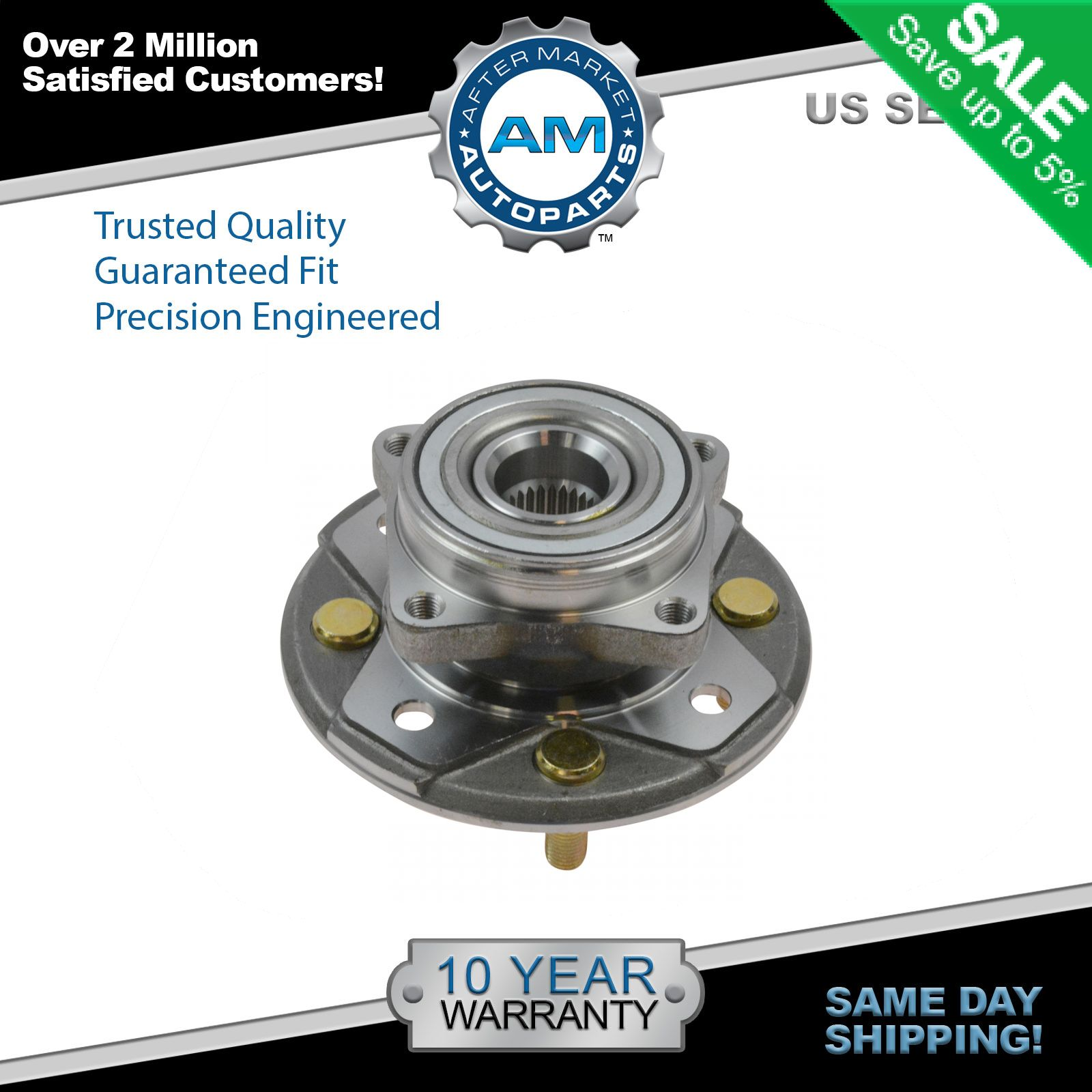 Front Wheel Hub & Bearing Assembly Left or Right for Honda Accord Acura CL