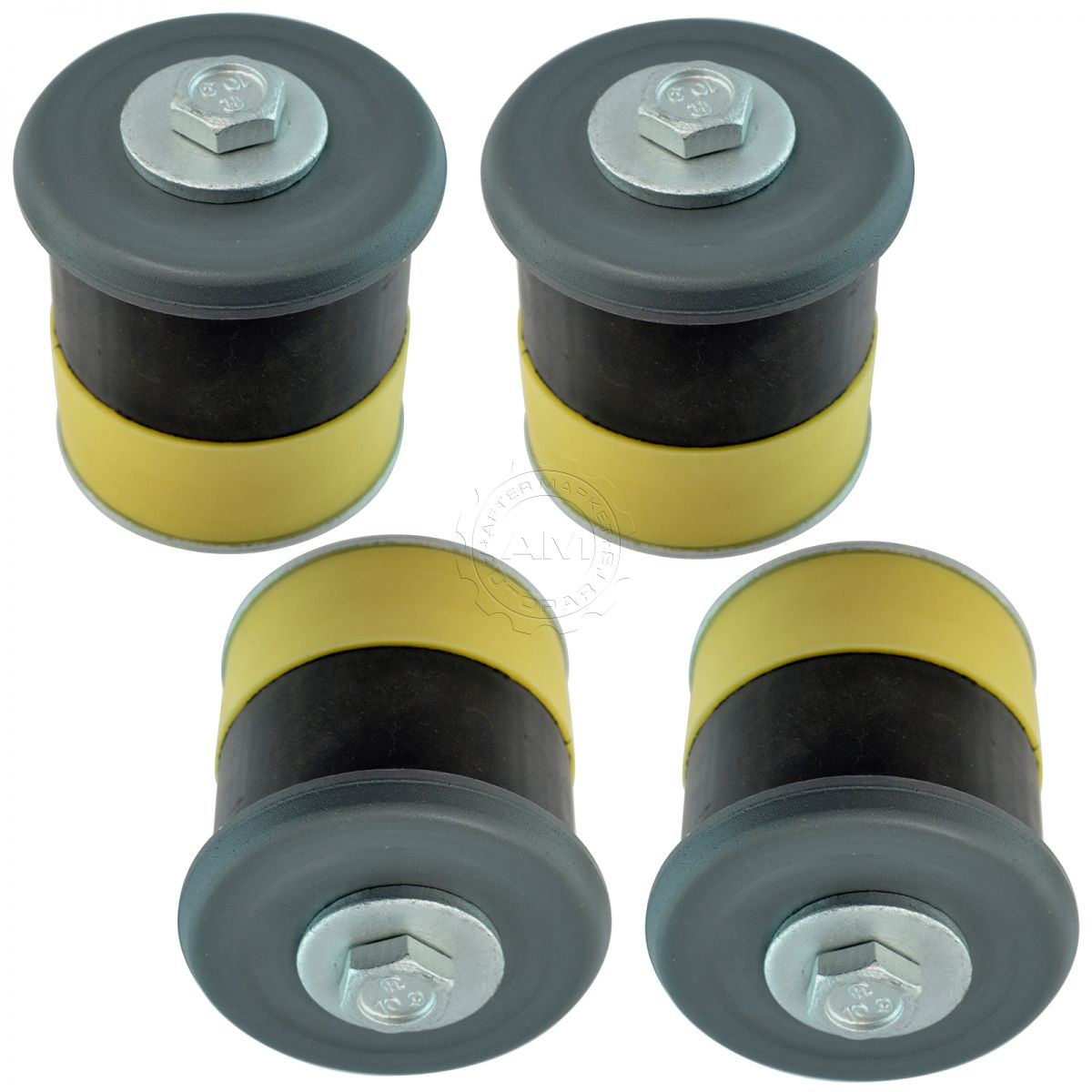 Details about Dorman Rear Body Mount Bushing Insulator & Bolt Kit Position  3 & 4 for ford