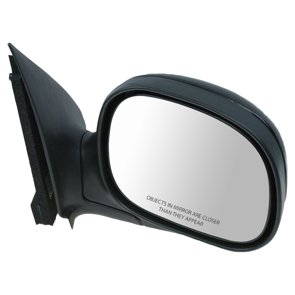 PTM Folding Manual Side View Mirror Passenger Right RH For