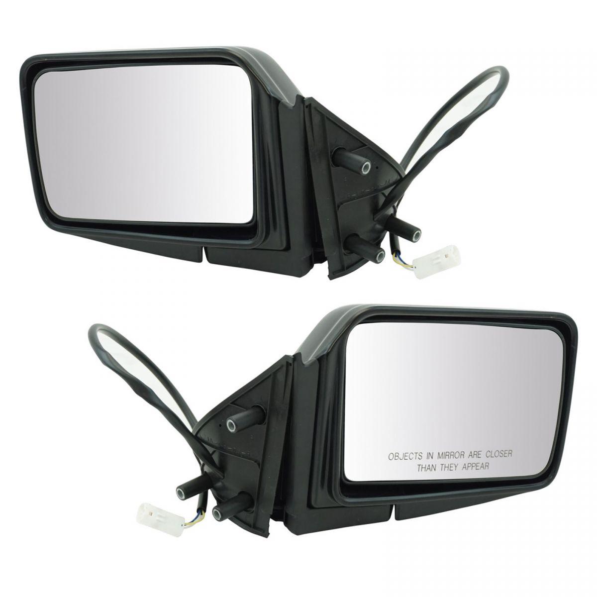 Power Side Mirrors Pair Set For 87 95 Pathfinder Pickup Truck D21 Hardbody Ebay