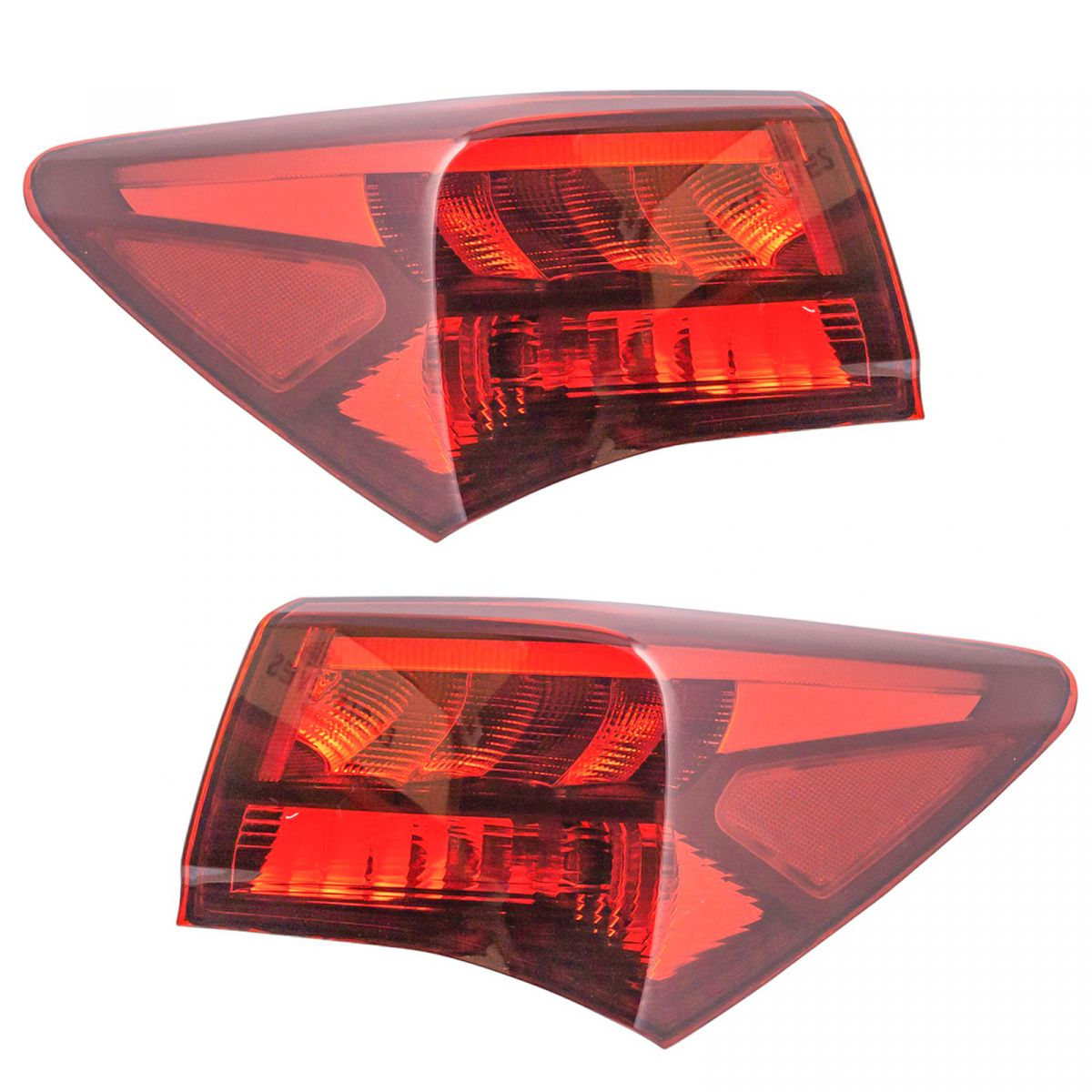 Tail Light Lamp Left Right Side Pair For 15-17 Acura TLX
