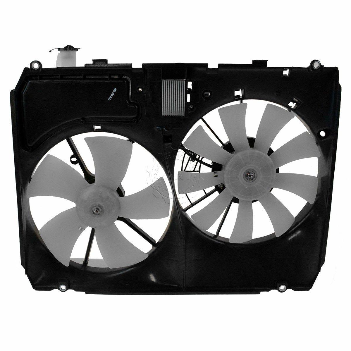 Depo 324-55003-000 Dual Fan Assembly
