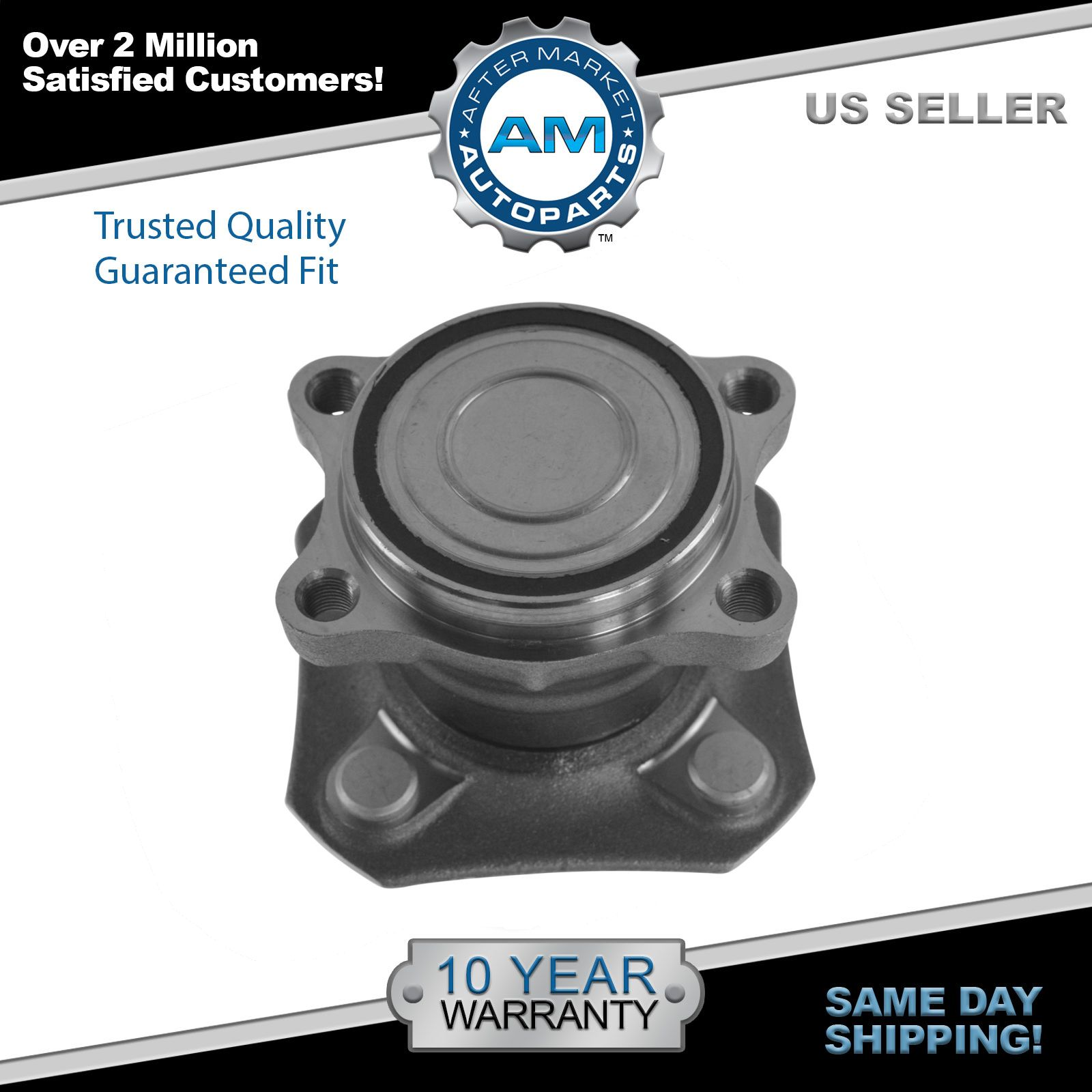 Wheel Bearing and Hub Assembly Rear for 07-12 Nissan Sentra w/o ABS 2.0L New