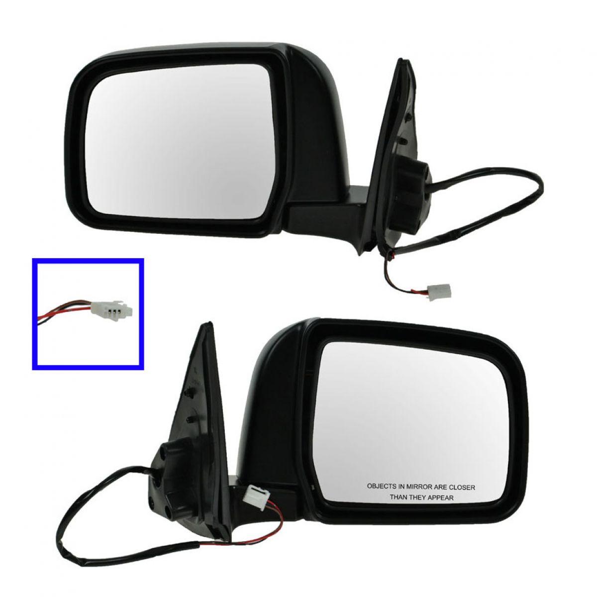 Manual Mirror Passenger Side Right Hand RH for 97-99 Toyota 4Runner 4 Runner