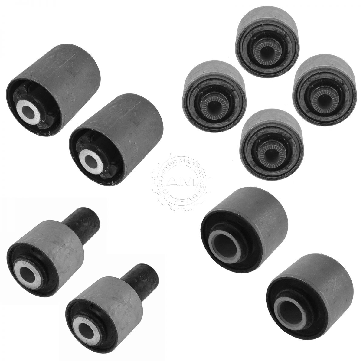 2014 Chrysler 300 Clevis Left Front Suspension Awd: Control Arm Bushing Upper Lower Front Rear Kit Set Of 10