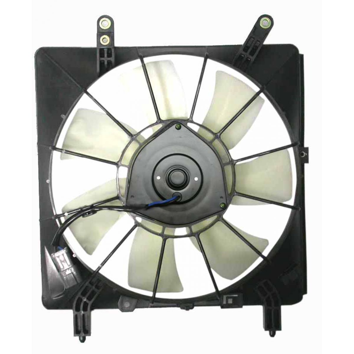Air Conditioning A  C Condenser Cooling Fan Assembly For 02