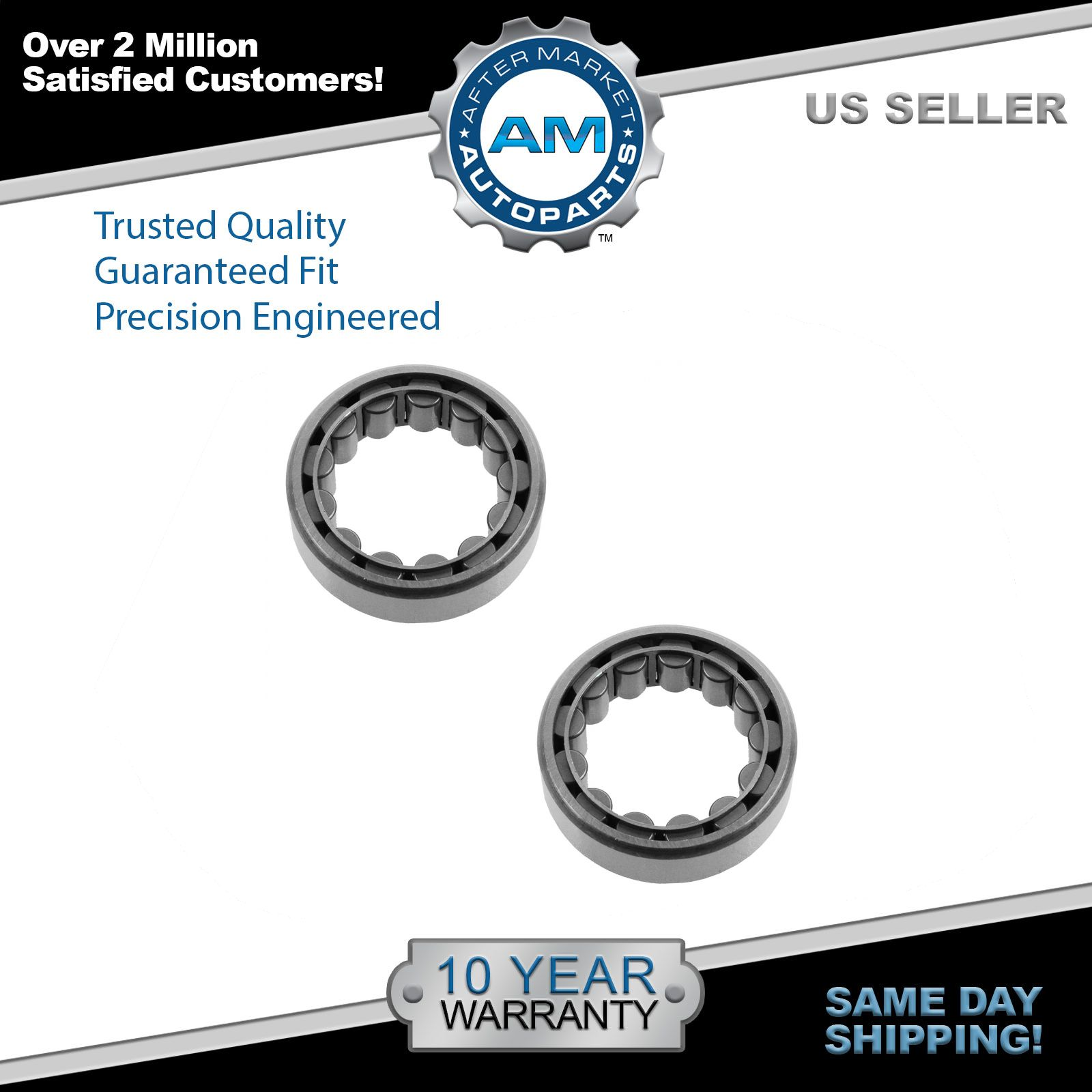Axle Shaft Wheel Bearing Rear Pair for GM Dodge Ford Jeep New