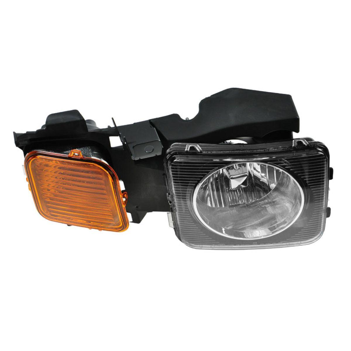 headlight headlamp passenger side right rh new for 06 10. Black Bedroom Furniture Sets. Home Design Ideas