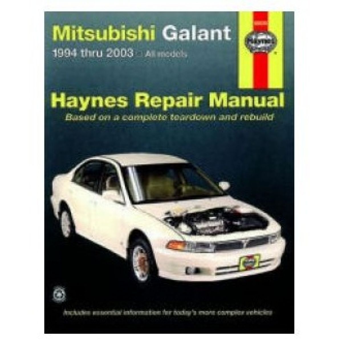 Haynes Repair Manual for Mitsubishi Galant 94-00 01 02 03