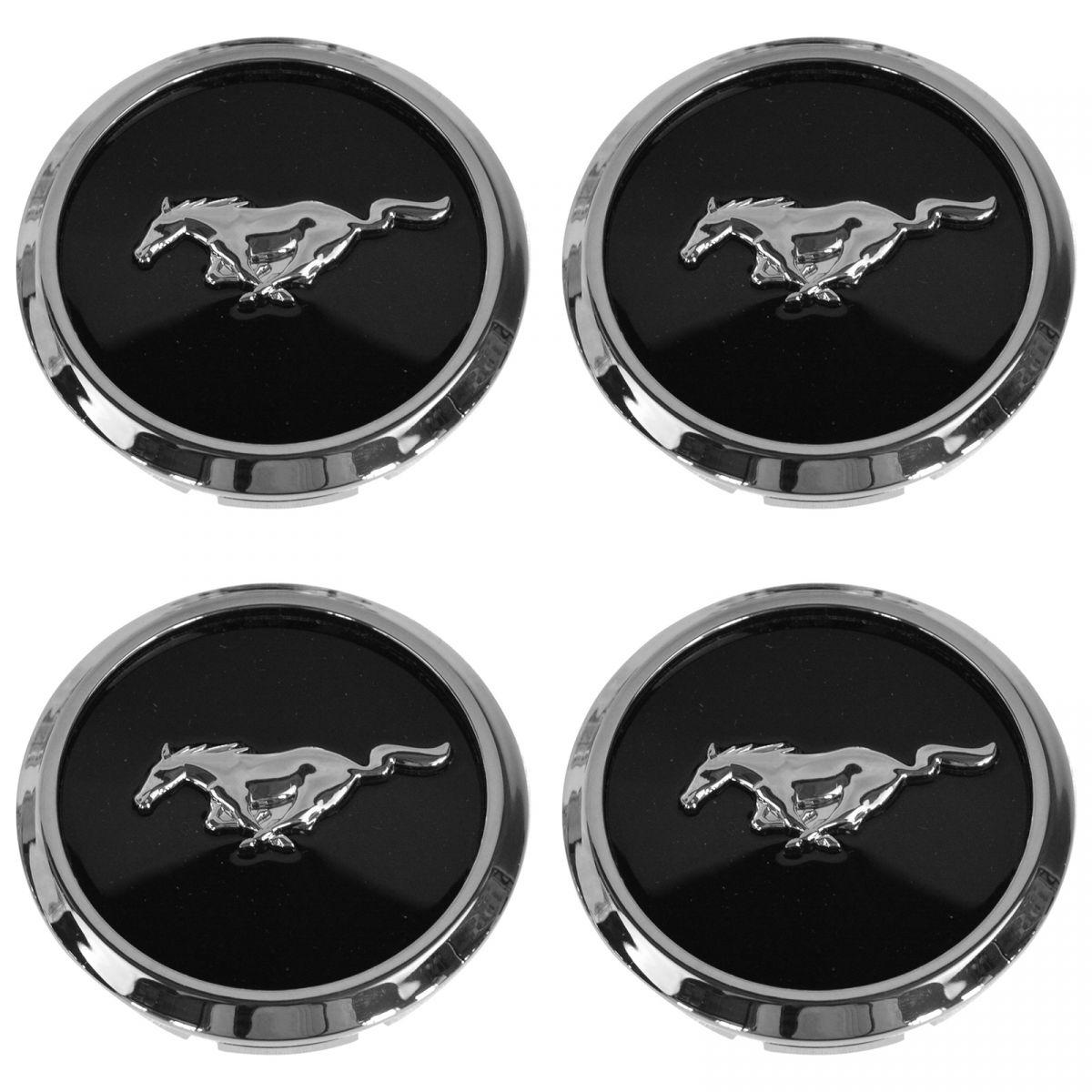 SET OF 4 OEM Ford Taurus Sable Mustang XR33-1A096 Wheel Center Cap Hubcap
