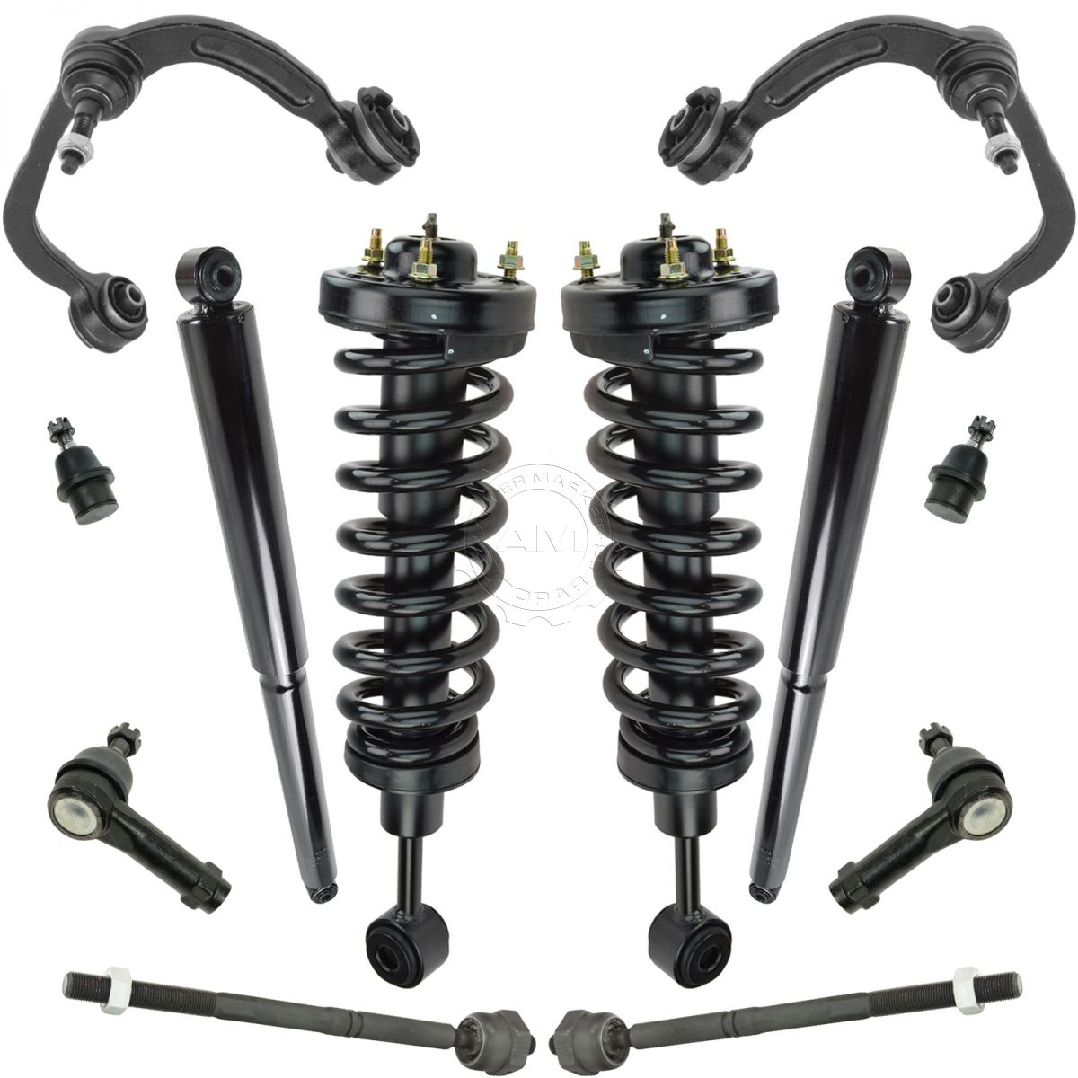 05 ford f150 4x4 coil spring installation on strut
