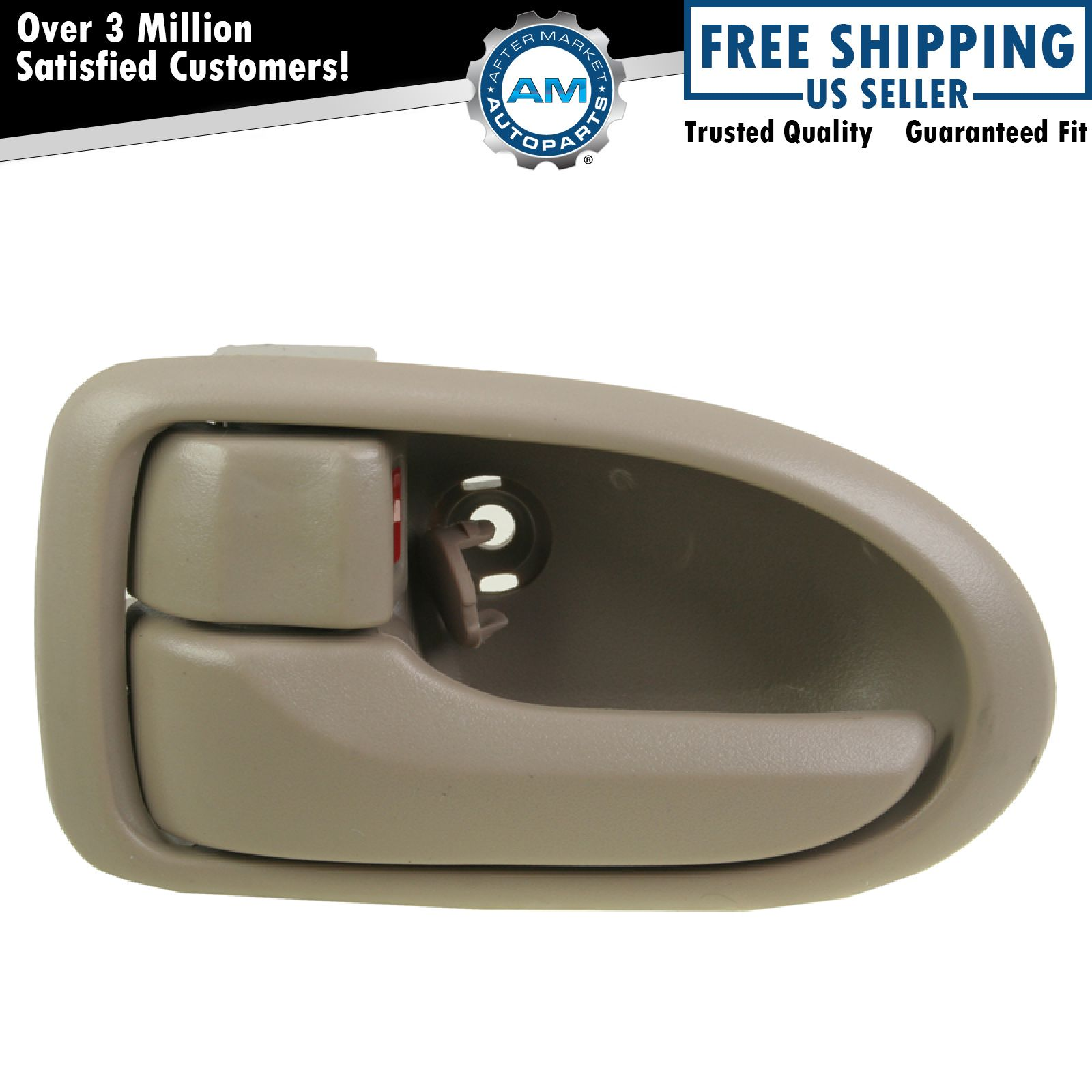 Front Beige Inner Inside Interior Door Handle Lh Left Driver For 00 06 Mazda Mpv Ebay