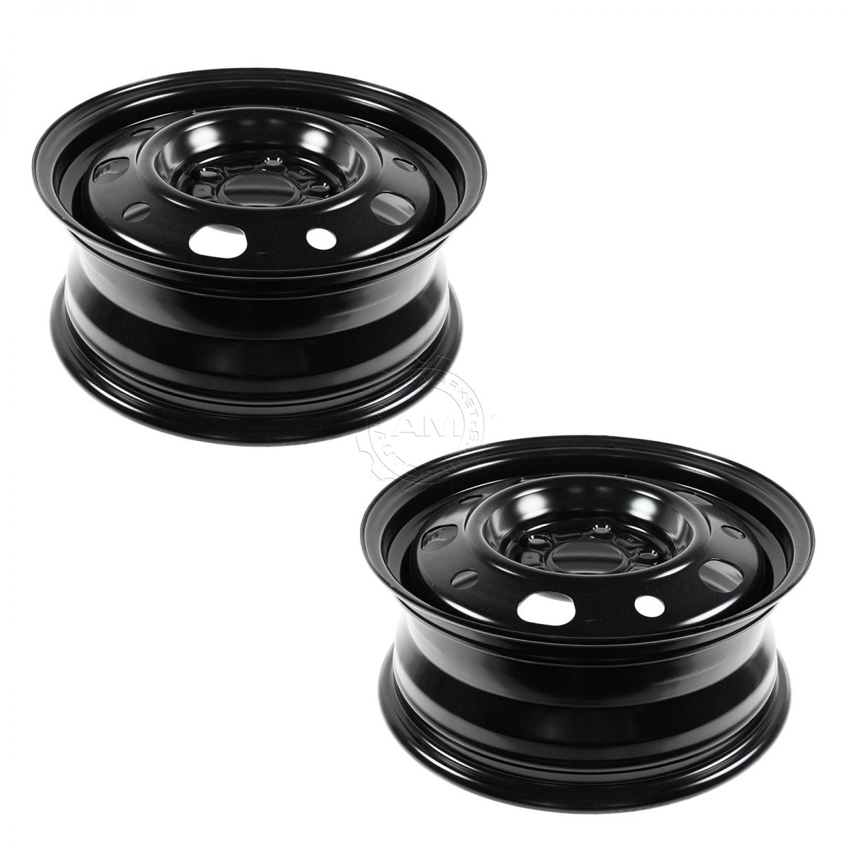 Dorman 15 inch Steel Replacement Wheel Rim New SET of 4 for 07-12 Dodge Caliber
