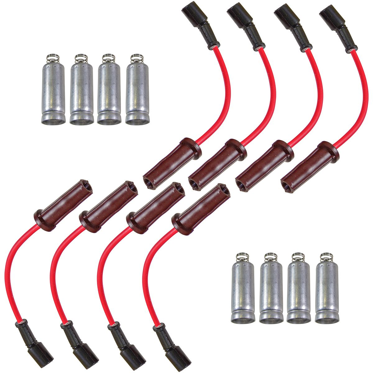 Spark Plug Ignition Wire Set for Buick Cadillac Chevy Hummer Isuzu w/Squire Coil