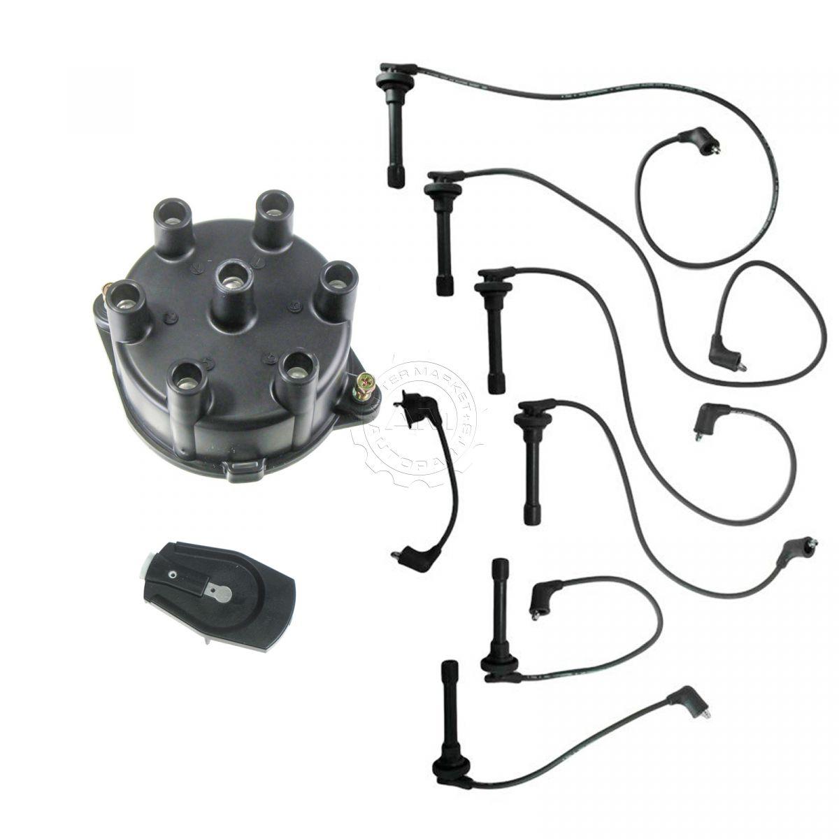 Plug Wires Distributor Cap & Rotor Kit for 95-97 Accord 2.7 | eBay
