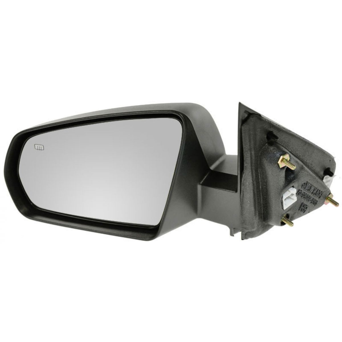 Side View Mirror Power Heated Black Driver Side Left LH for 08-13 Dodge Avenger