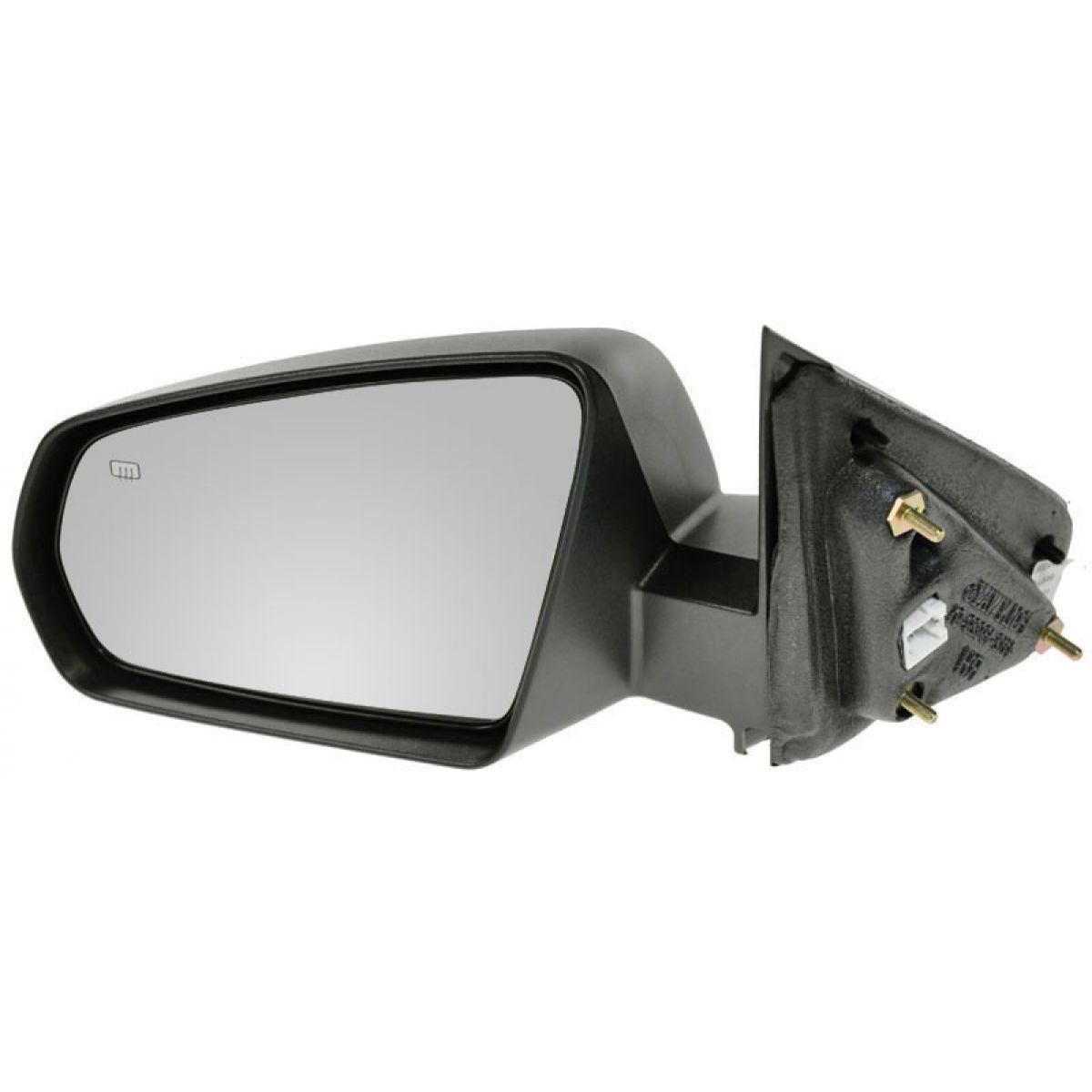 Black Power Side Mirror Pair Set LH//RH For 02-05 Sedona LX