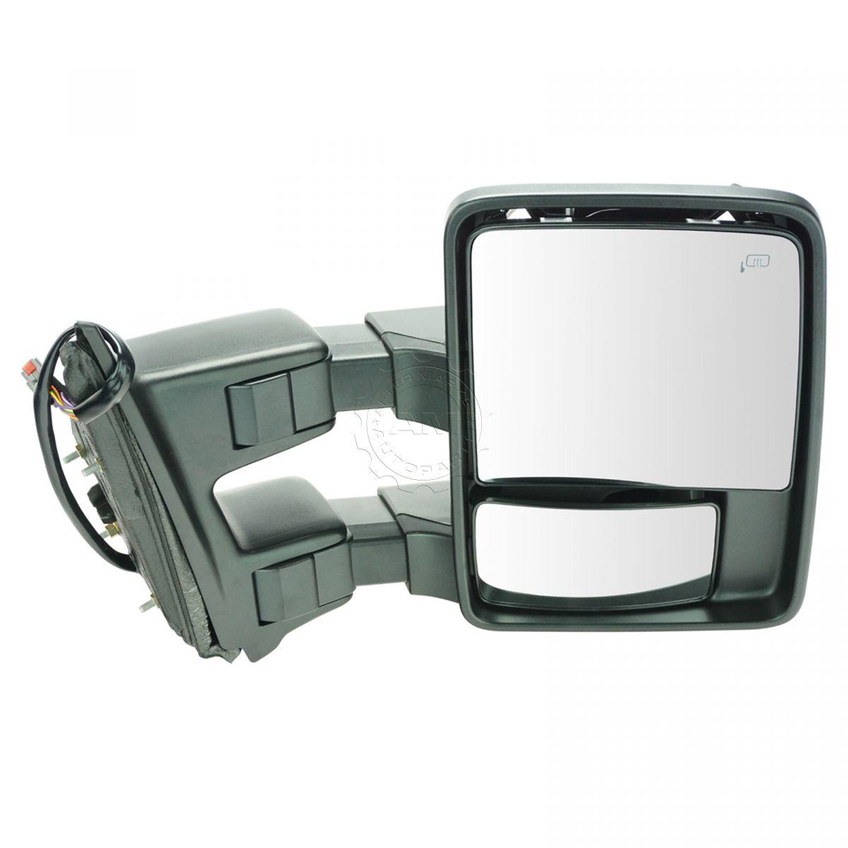 Towing Mirror Heat Signal Power Folding Telescoping Right RH for Super Duty