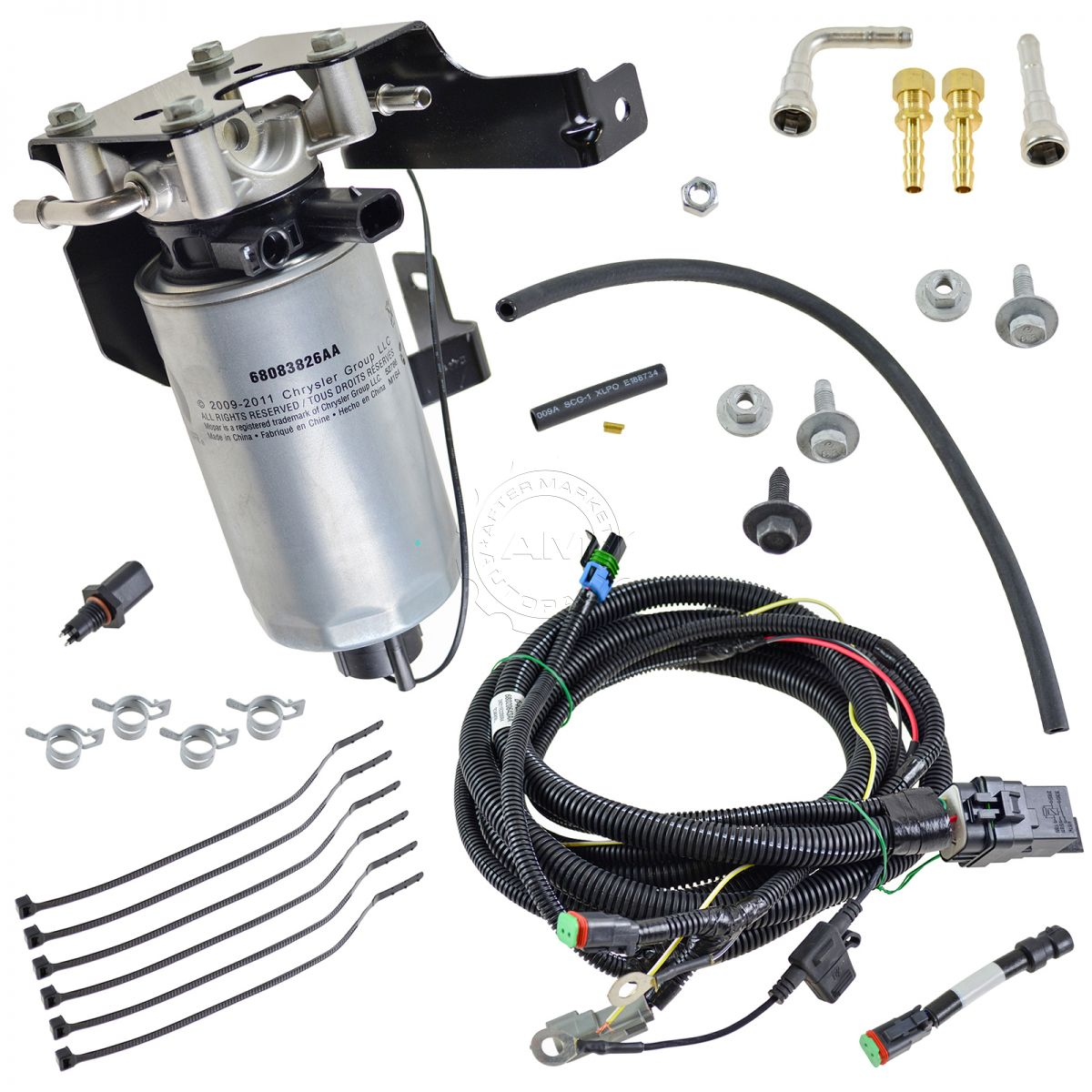 oem severe duty add on fuel filter system kit for dodge