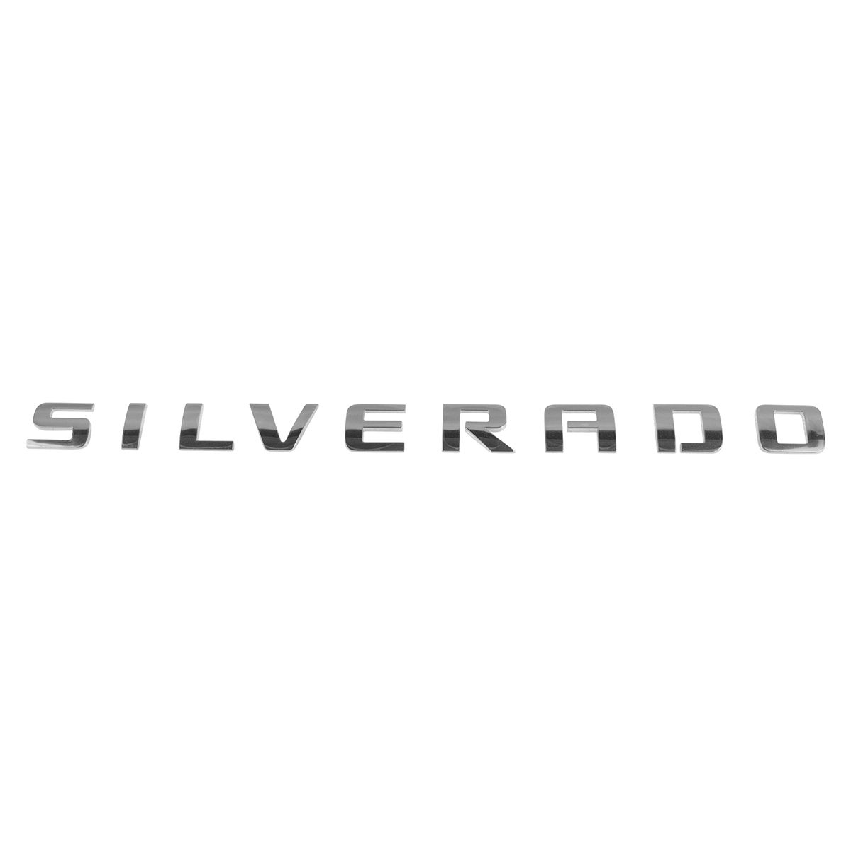 Chrome 1 Pcs Letter Sierra Nameplate Emblem 3D Plastic Badge Replacement for Gm 2500HD 3500HD Sierra